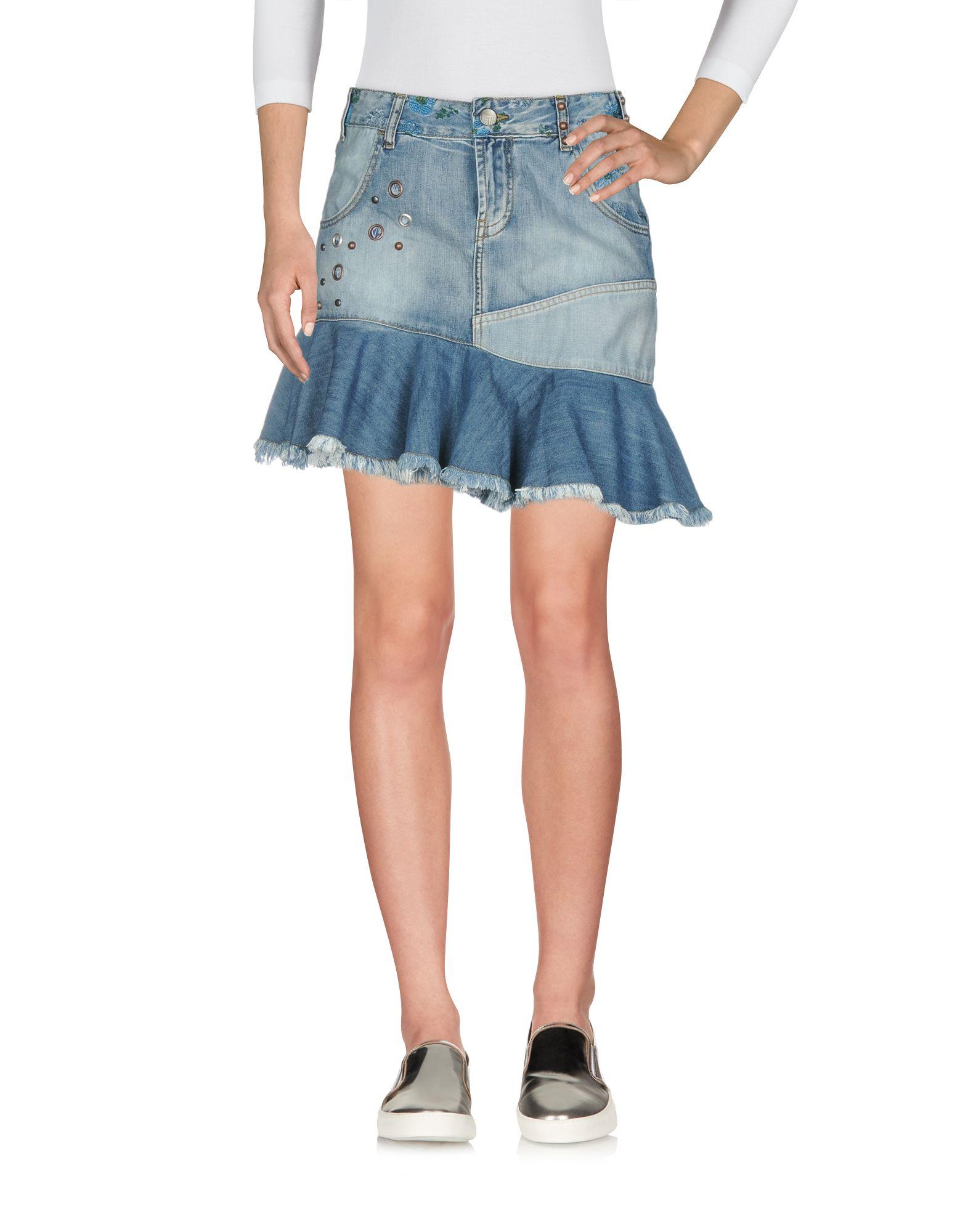 DESIGUAL Джинсовая юбка
