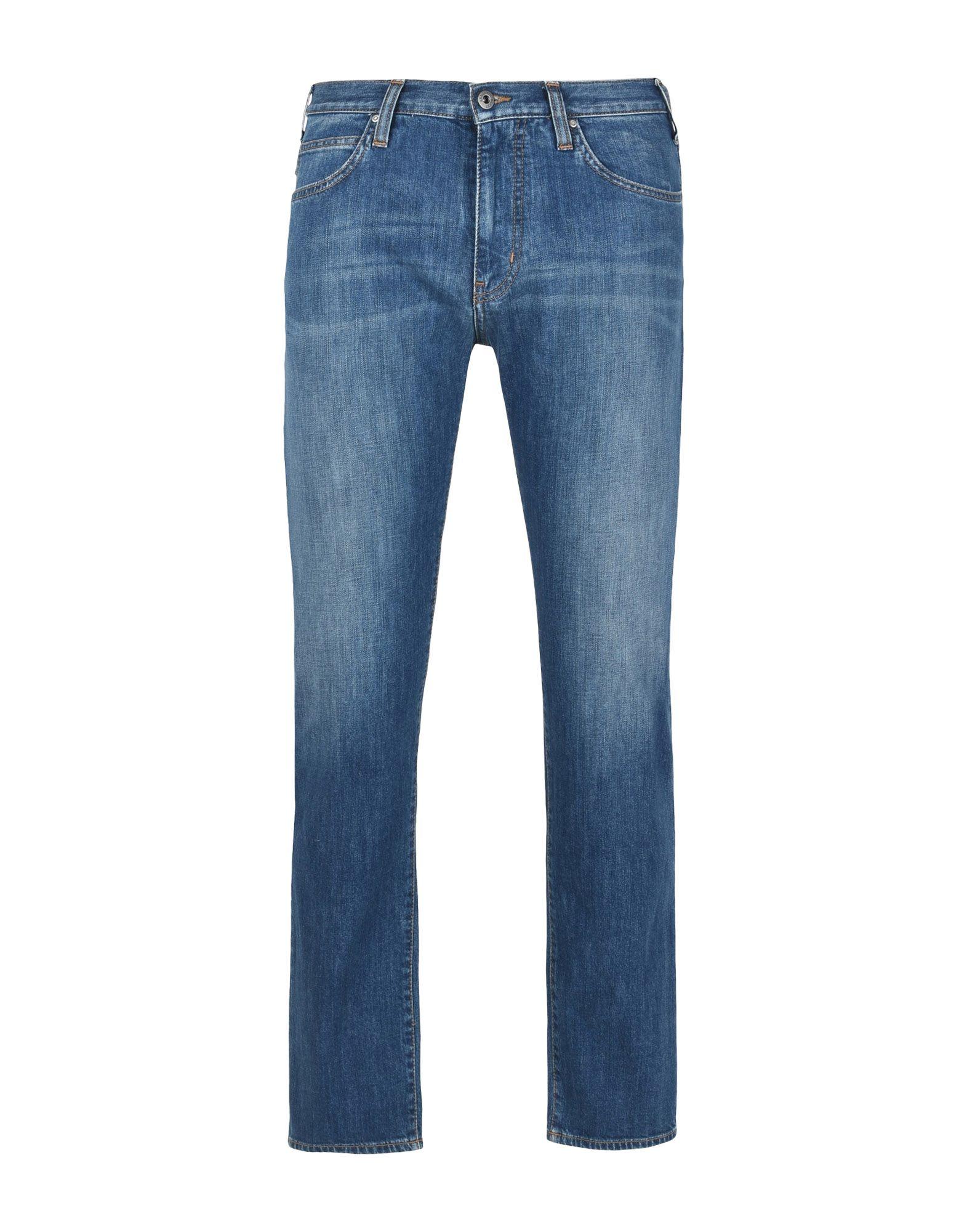 《セール開催中》ARMANI JEANS メンズ ジーンズ ブルー 29W-32L コットン 98% / ポリウレタン 2%
