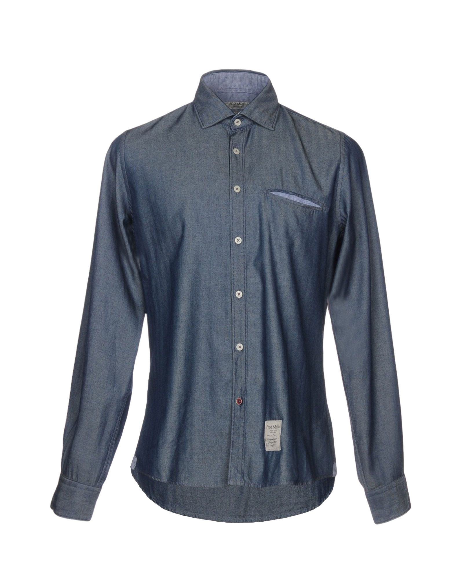 FRED MELLO Джинсовая рубашка fred mello пуховик