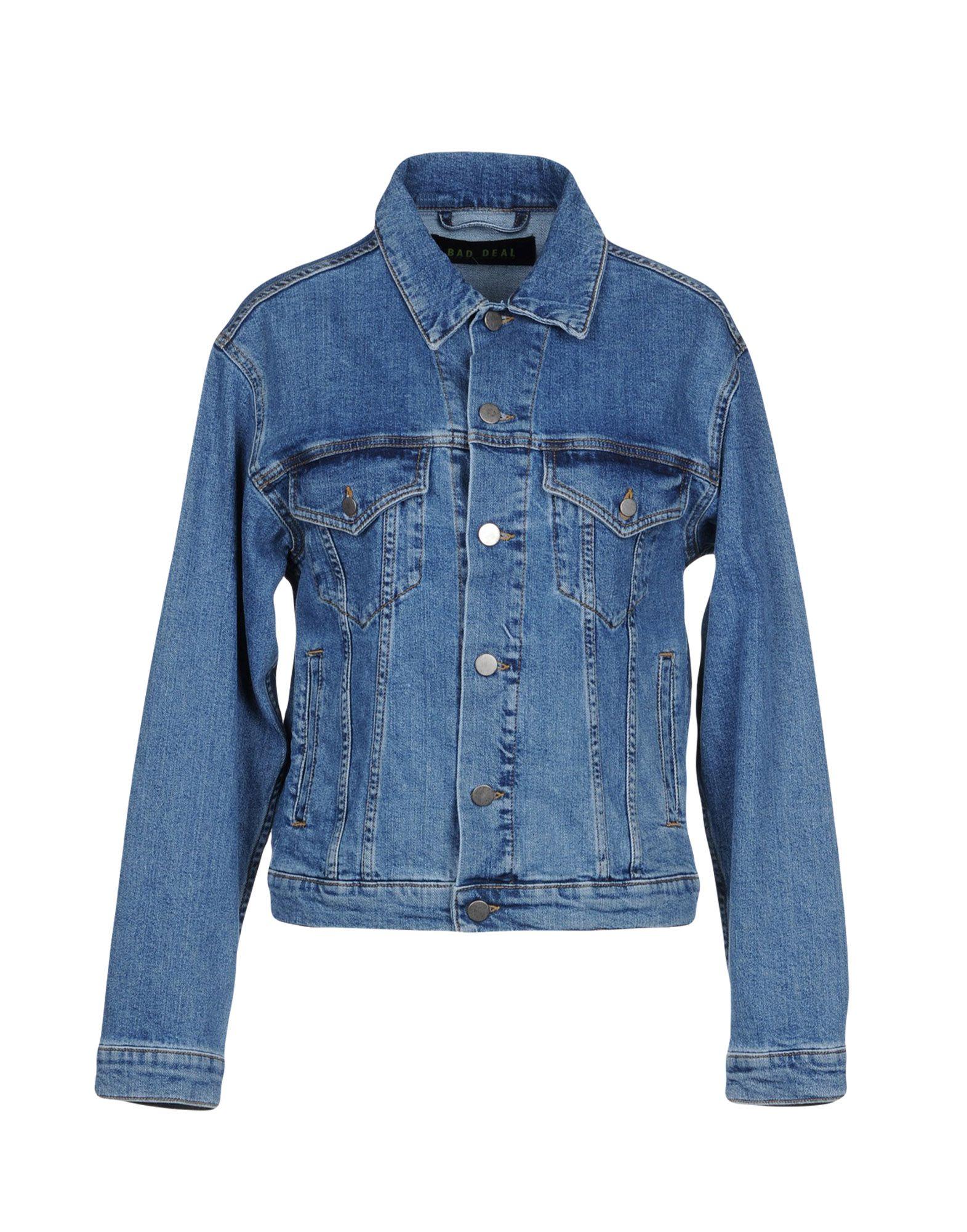 BAD DEAL Джинсовая верхняя одежда wood wood джинсовая верхняя одежда