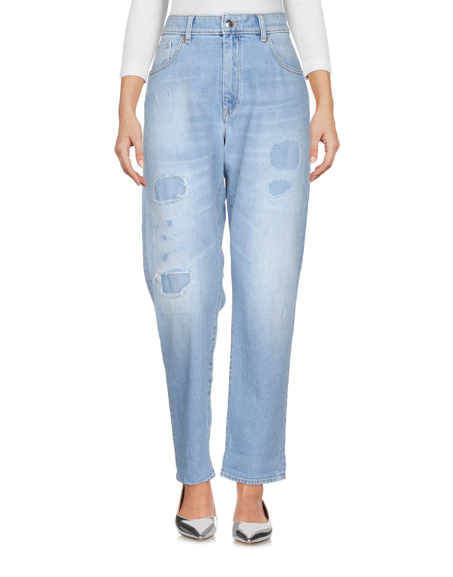 THE SEAFARER Джинсовые брюки женские брюки лэйт светлый размер 50