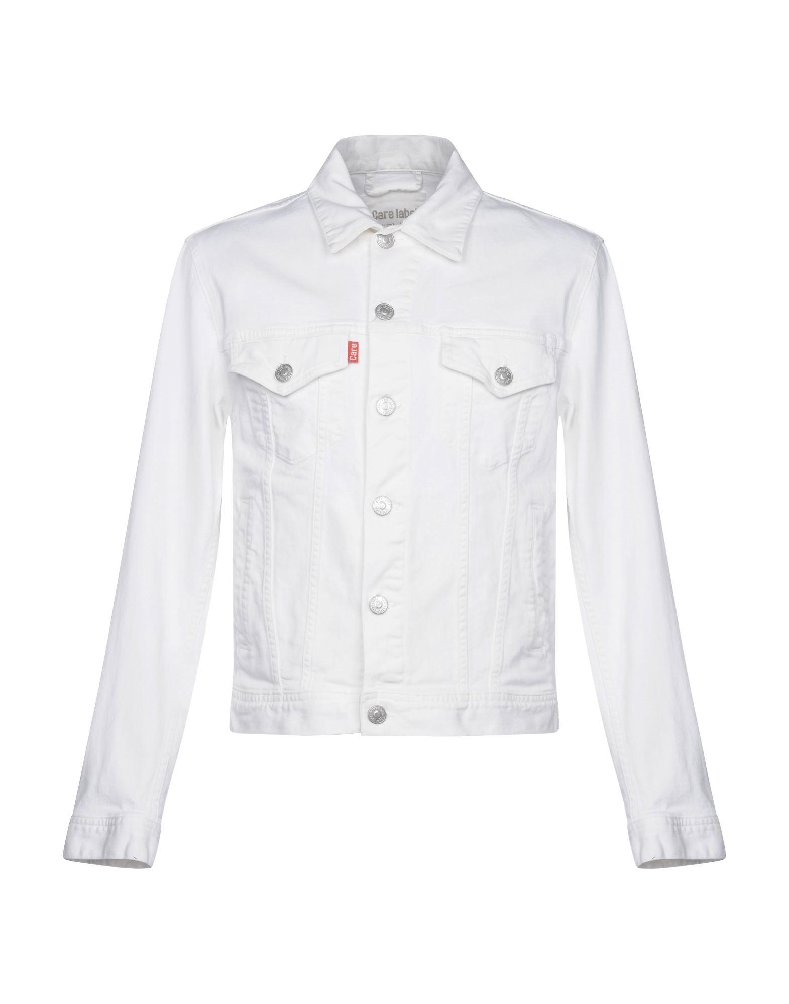 CARE LABEL Denim Jacket in White