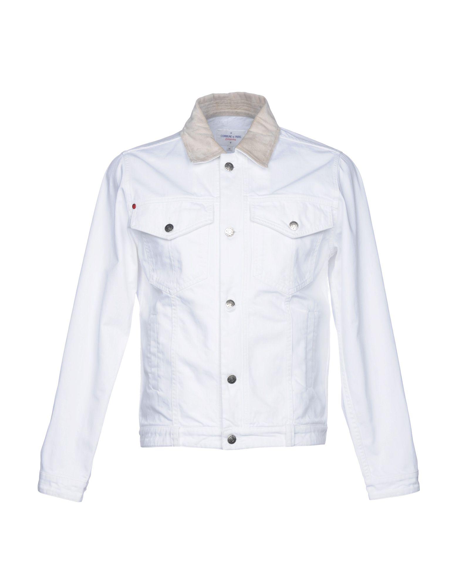 COMMUNE DE PARIS 1871 + DIMANCHES Джинсовая верхняя одежда commune de paris 1871 dimanches джинсовая рубашка