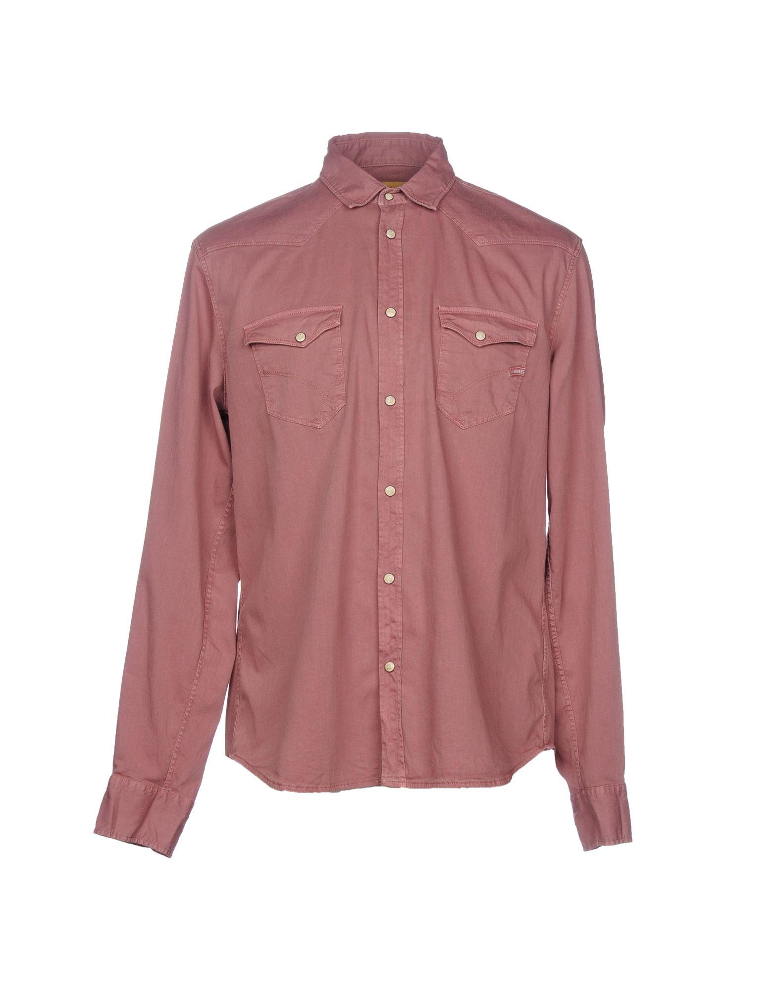 GAS Джинсовая рубашка