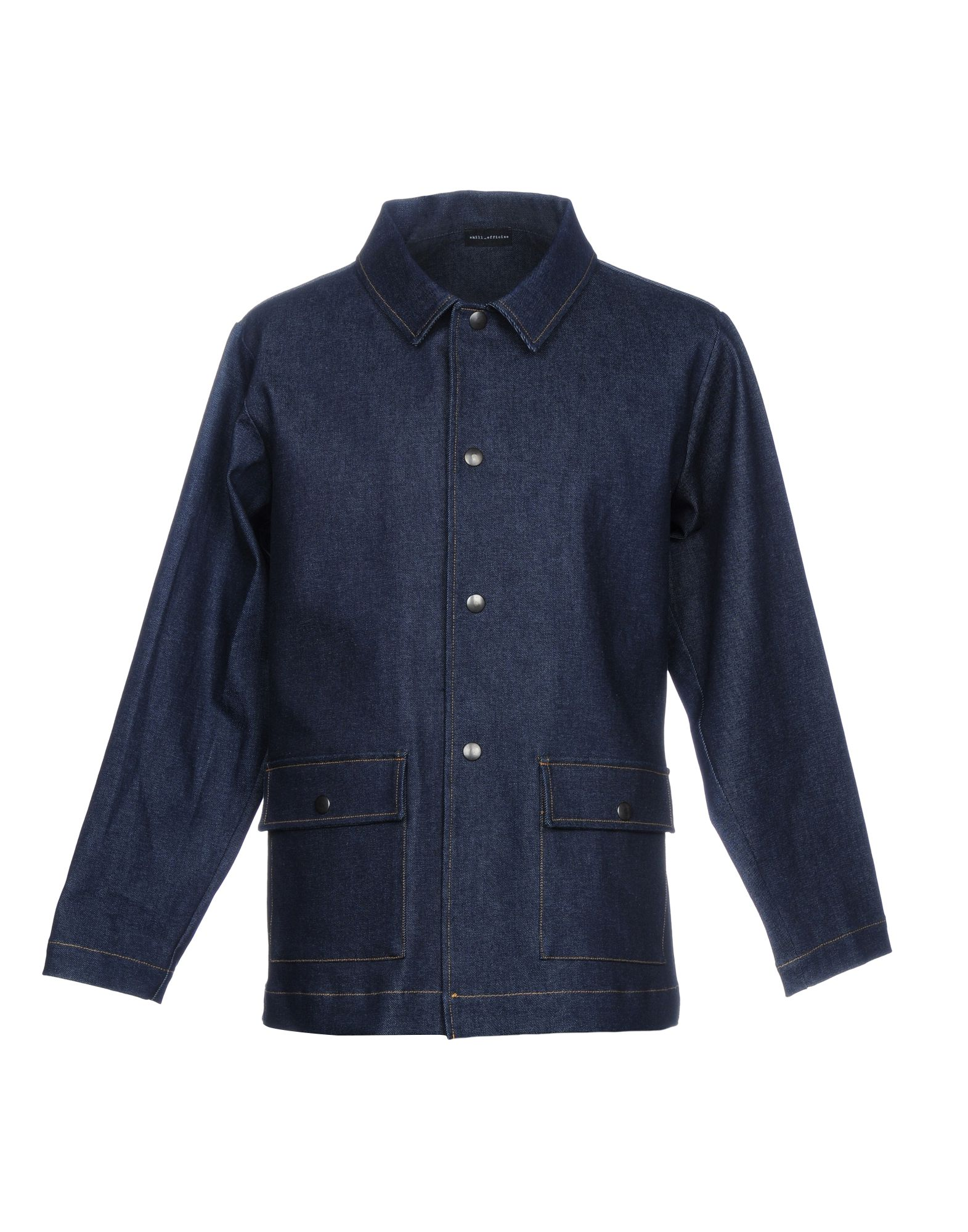 SKILL_OFFICINE Джинсовая верхняя одежда верхняя одежда