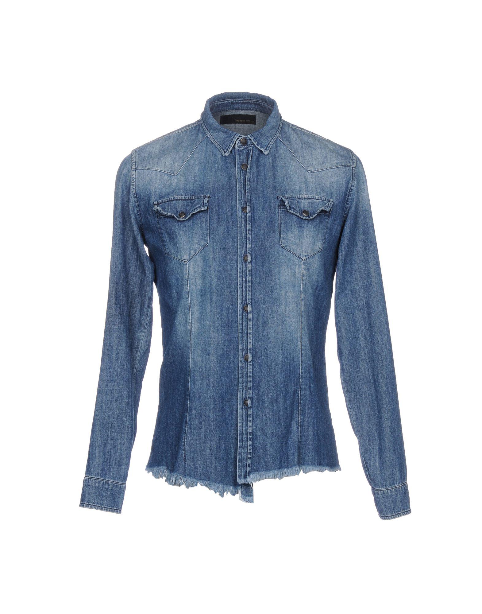 все цены на HIRO KIM Джинсовая рубашка