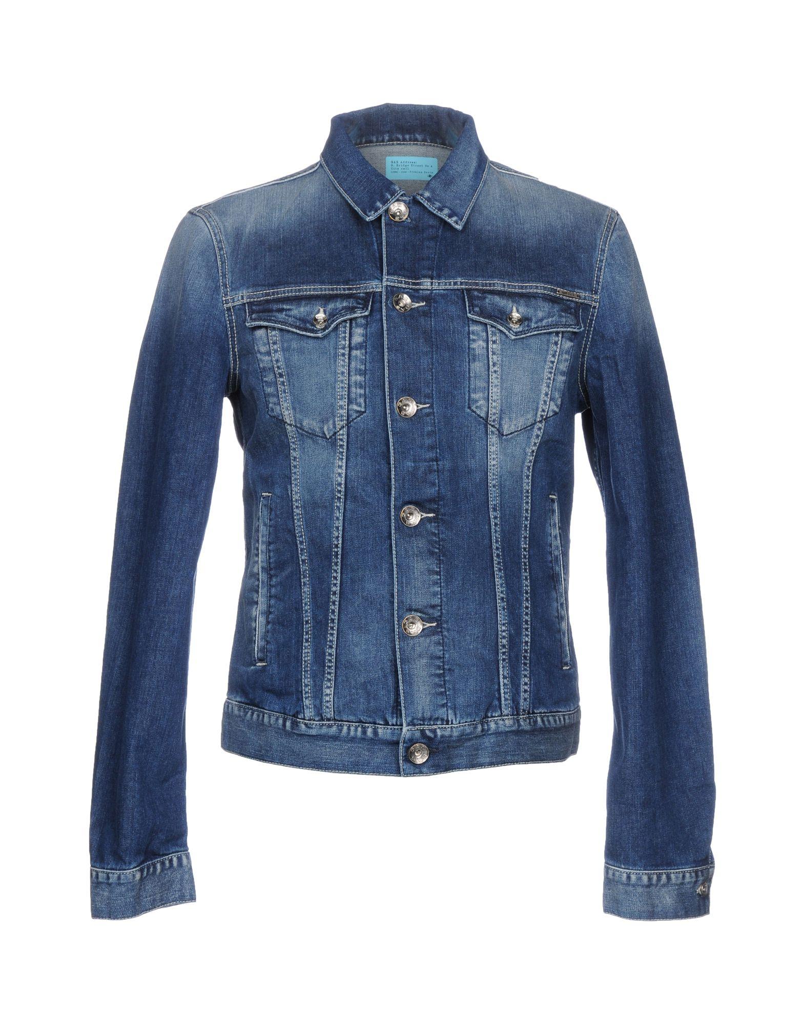 GAS Джинсовая верхняя одежда wood wood джинсовая верхняя одежда