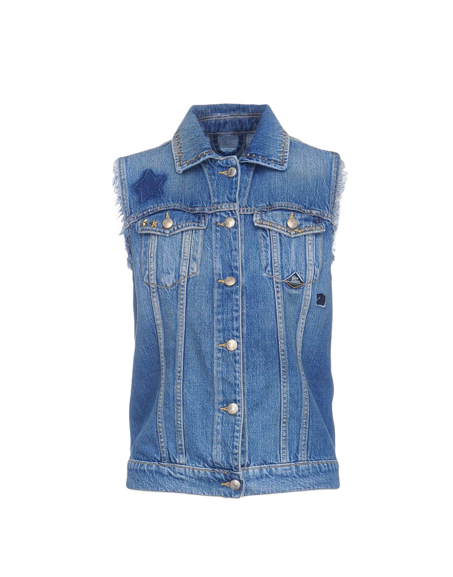 ROŸ ROGER'S Джинсовая верхняя одежда джемпер женский adl цвет светло розовый 13934214000 026 размер s 42 44