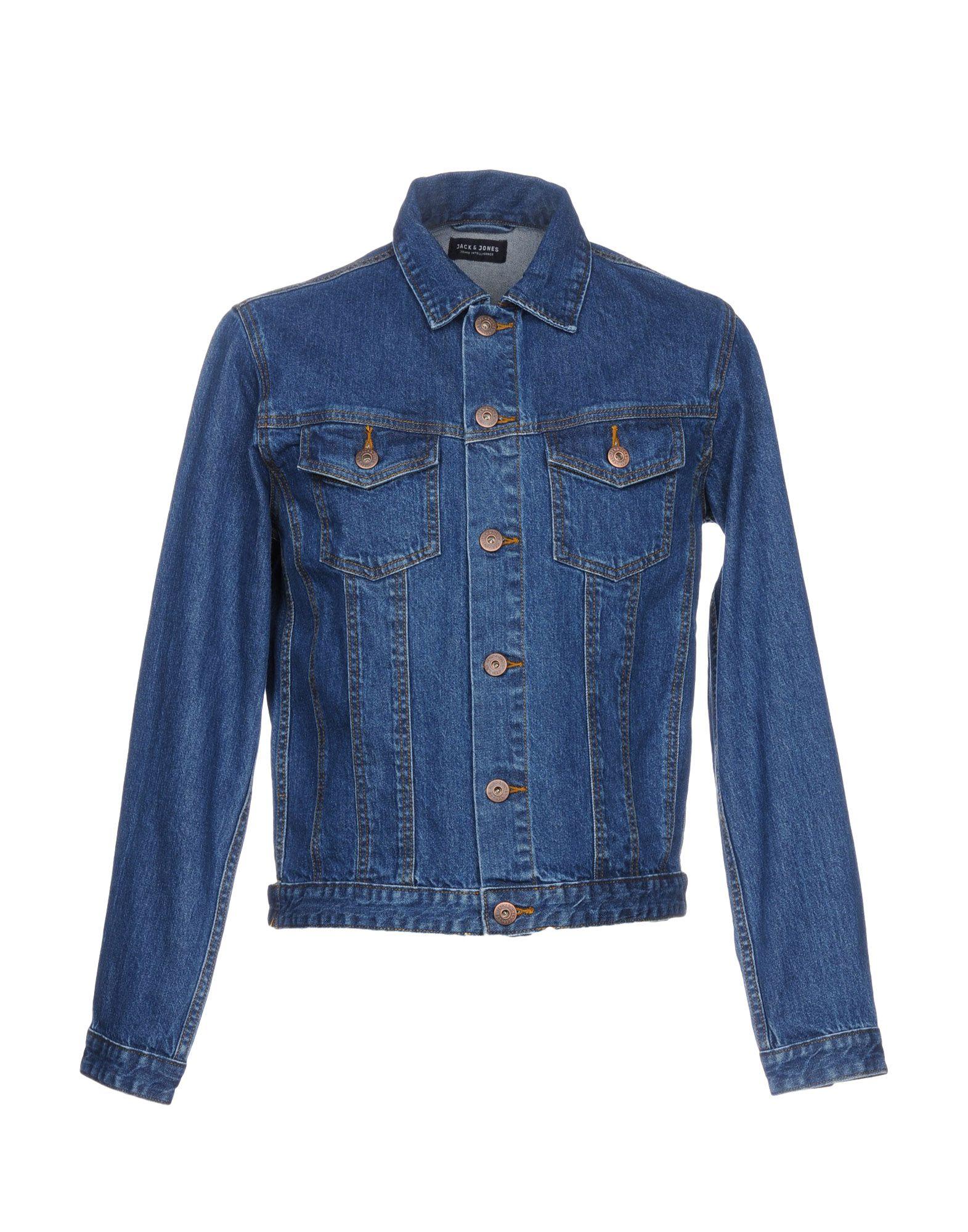 JACK & JONES Джинсовая верхняя одежда wood wood джинсовая верхняя одежда
