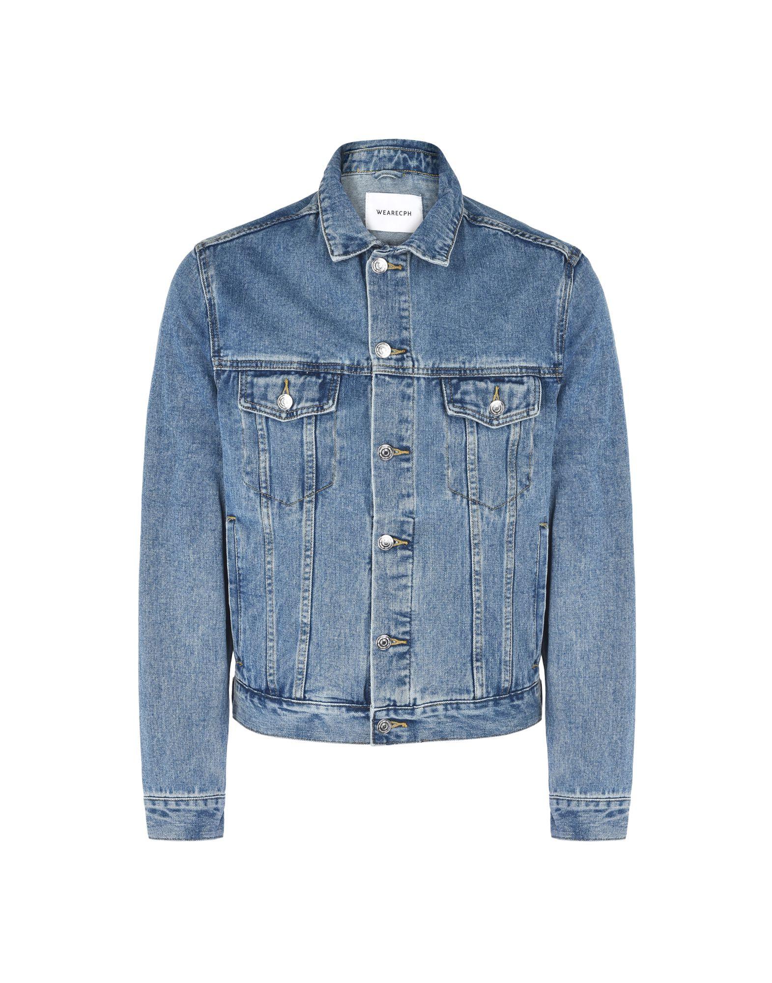 WEARECPH Джинсовая верхняя одежда folk джинсовая верхняя одежда
