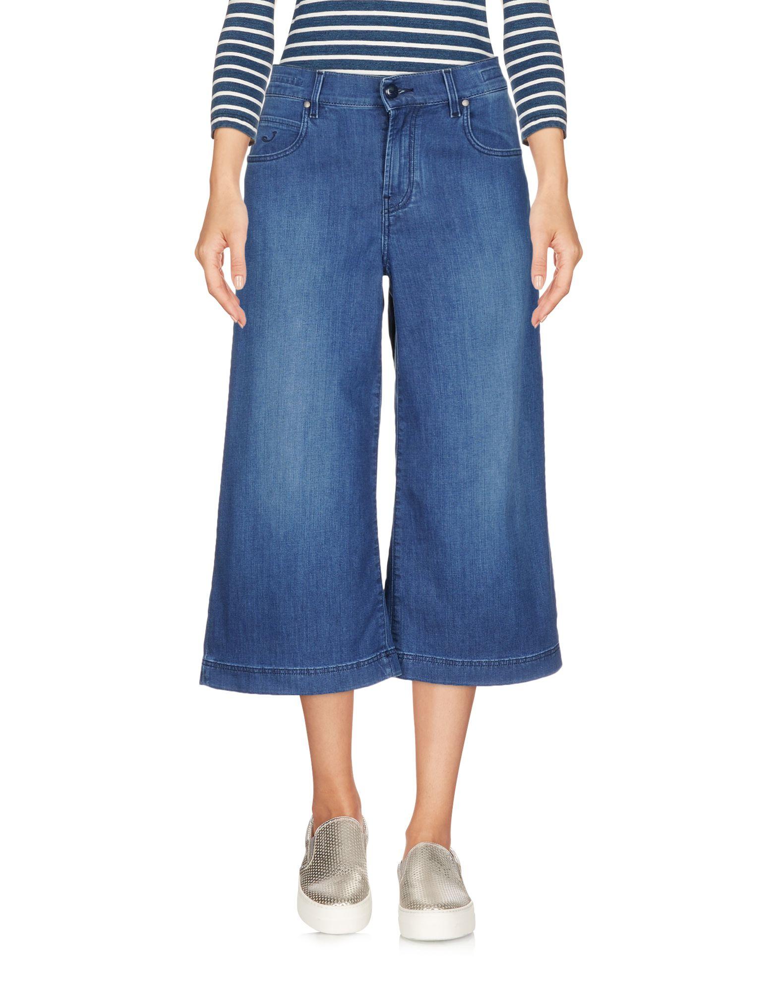 JACOB COHЁN Джинсовые брюки-капри jacob cohёn брюки капри