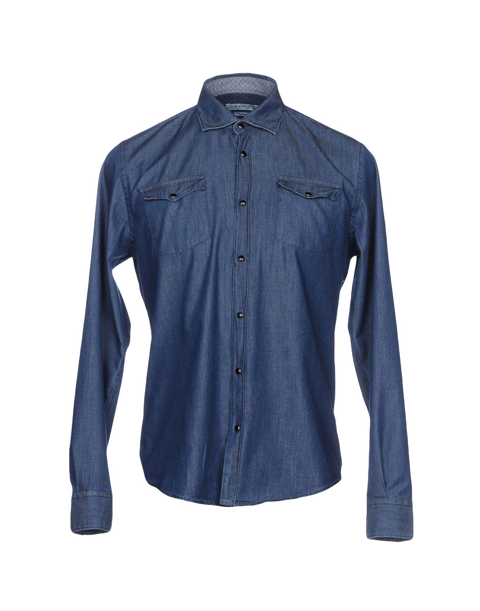 DOUBLE EIGHT Джинсовая рубашка