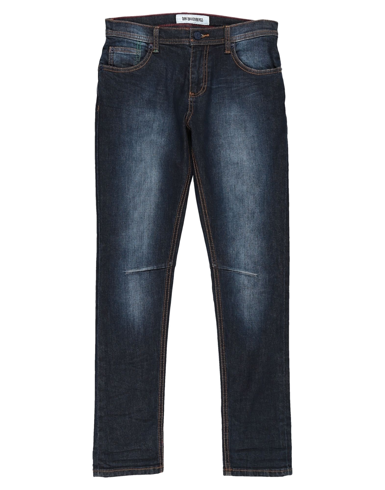 DIRK BIKKEMBERGS Джинсовые брюки цена 2017