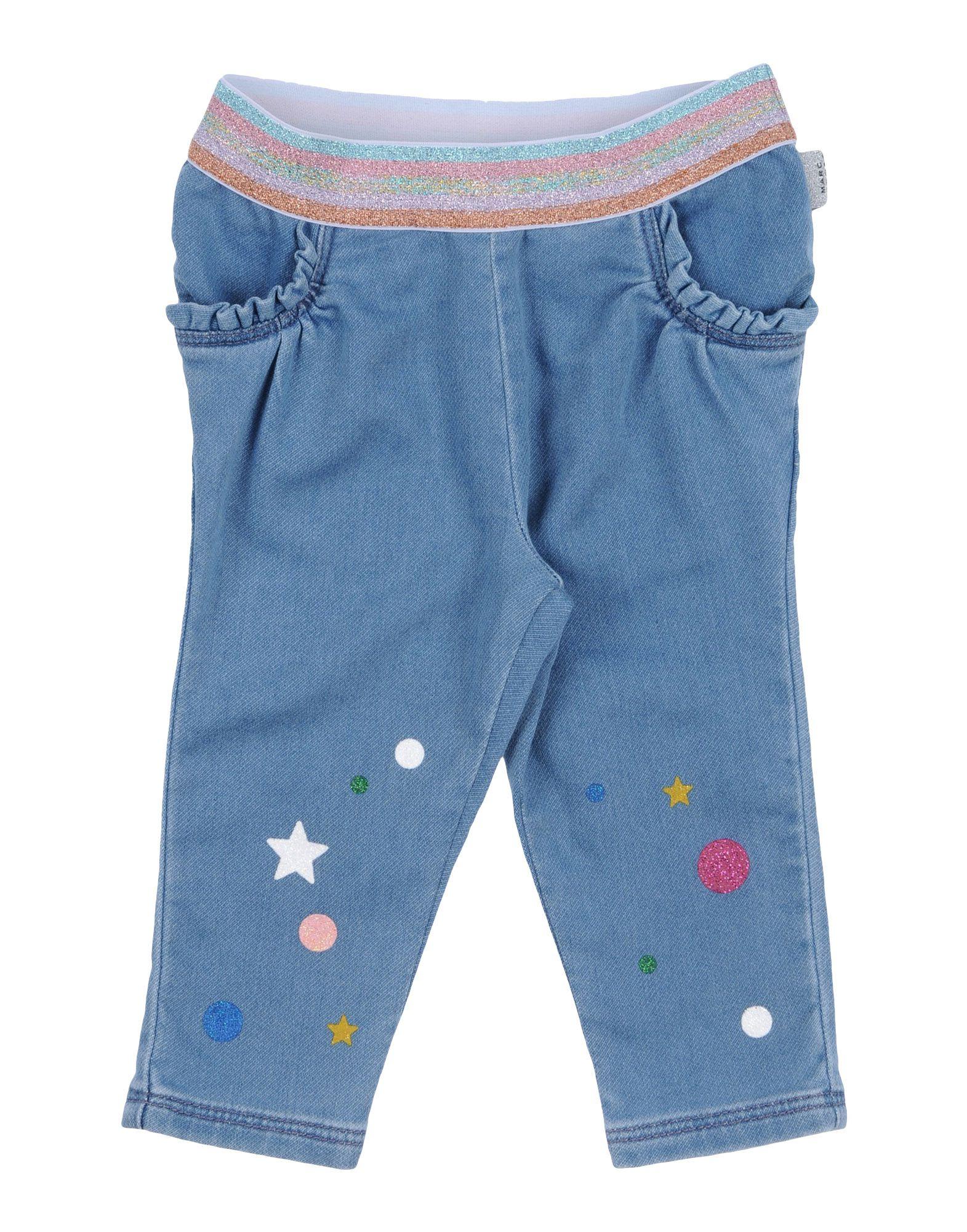 LITTLE MARC JACOBS Джинсовые брюки спортивные брюки серые little marc jacobs ут 00007281 page 8