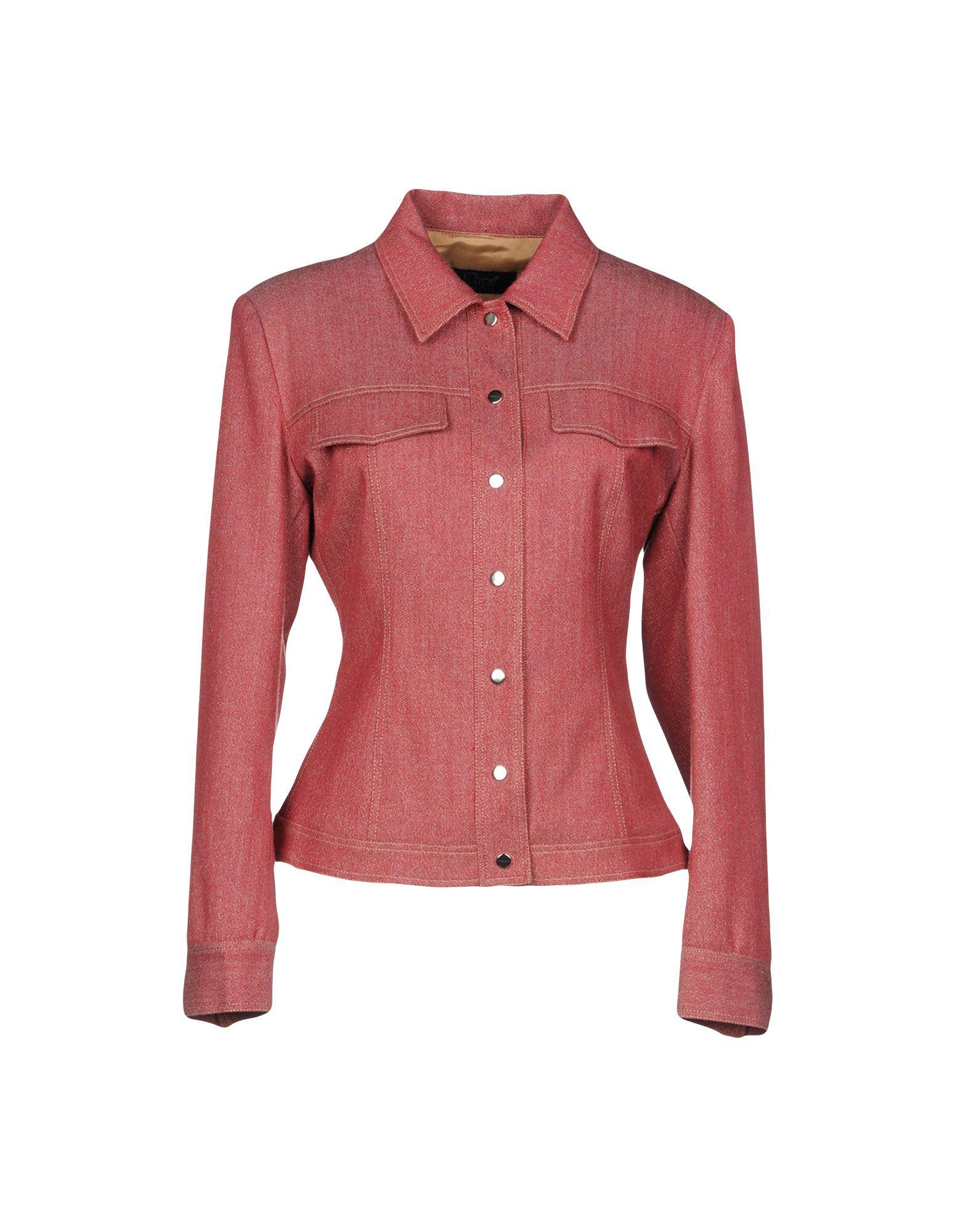 CLIPS Джинсовая верхняя одежда цена 2017