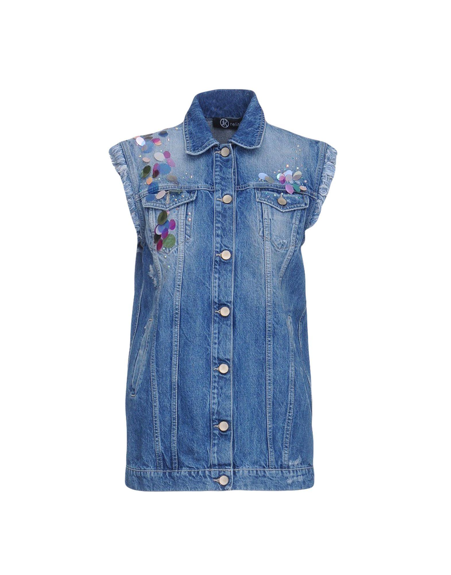 RELISH Джинсовая верхняя одежда wood wood джинсовая верхняя одежда