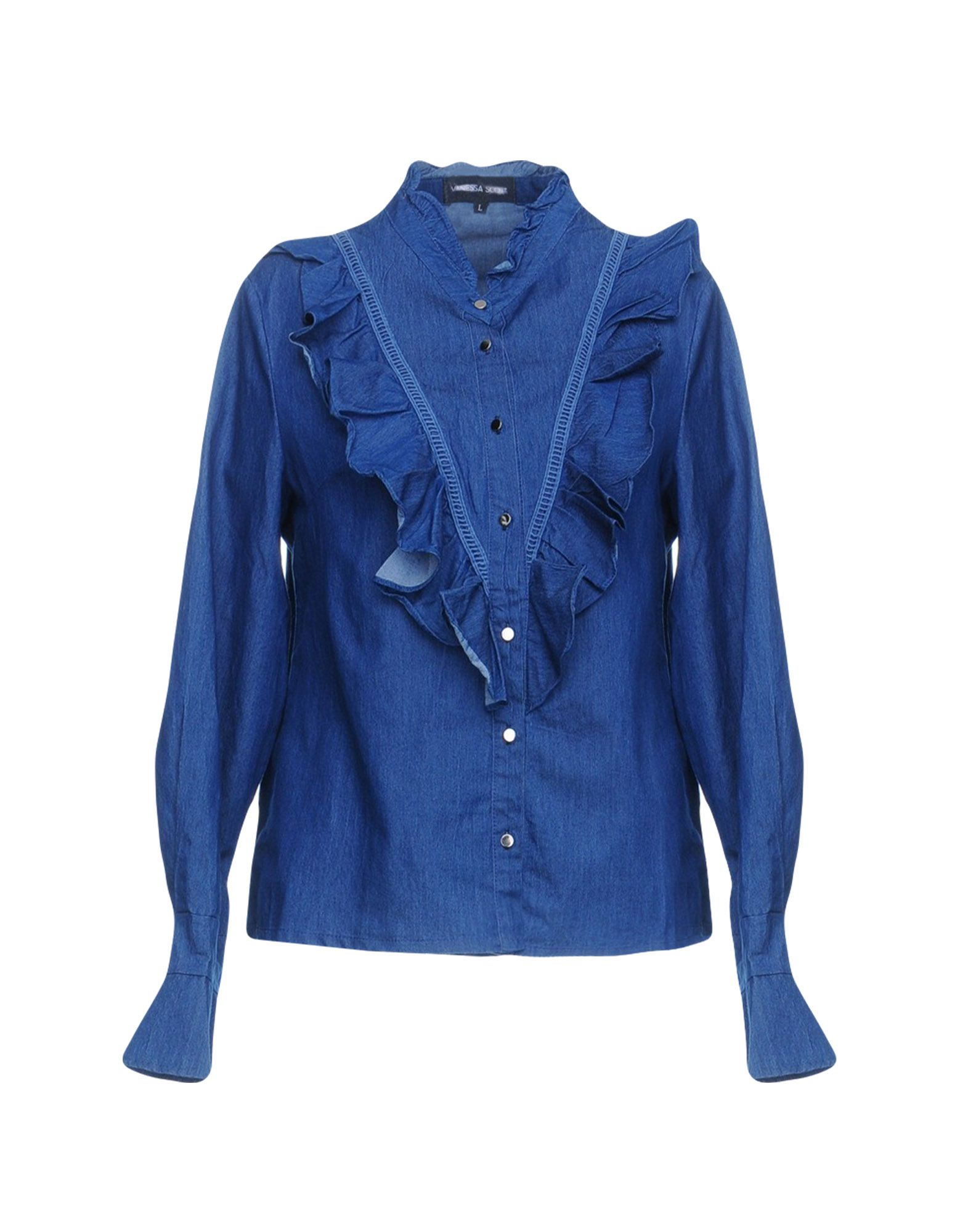 VANESSA SCOTT Джинсовая рубашка