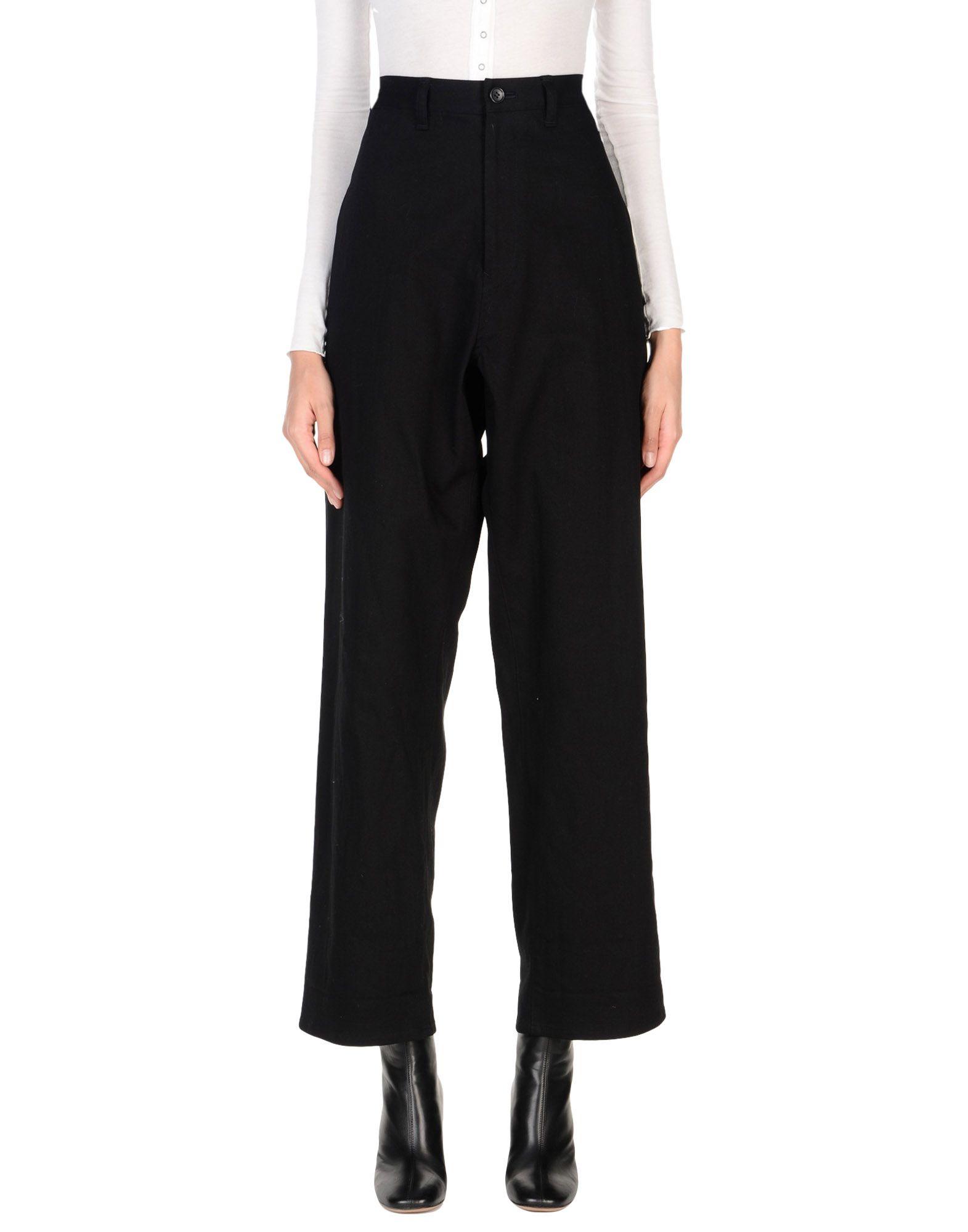 YOHJI YAMAMOTO NOIR Джинсовые брюки