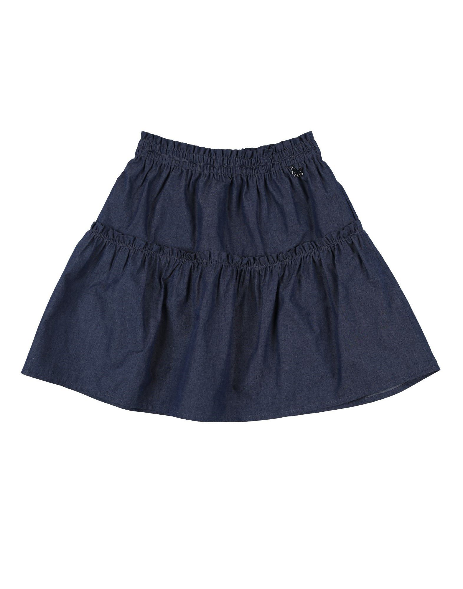 LU LÙ Джинсовая юбка юбка alex lu alex lu mp002xw1701x