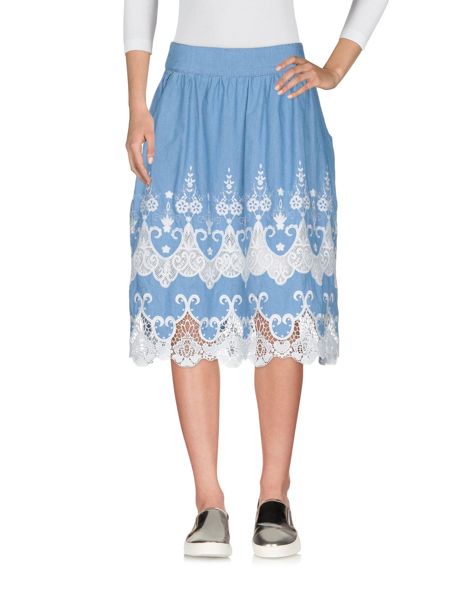 DESIGUAL Джинсовая юбка vinemo vorneoco корейская версия высокой талии слот пакет юбка джинсовая юбка юбка юбка r1540 серый xl
