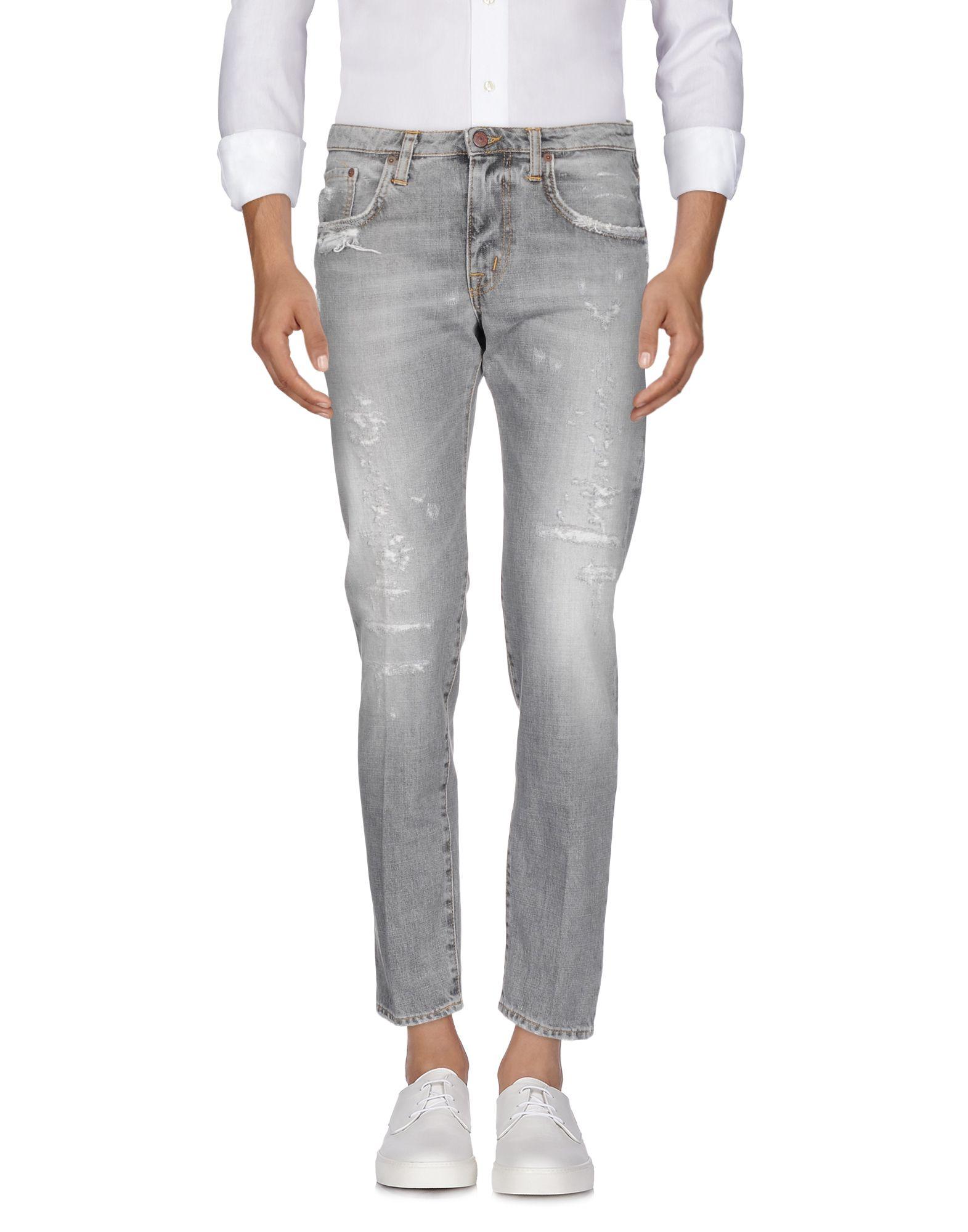 PEOPLE Denim Pants in Grey