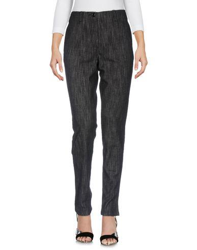 Фото - Джинсовые брюки от MOMONÍ черного цвета
