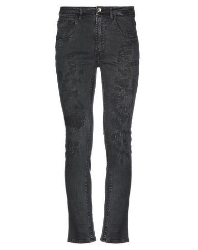 Фото - Джинсовые брюки от POÈME BOHÈMIEN черного цвета