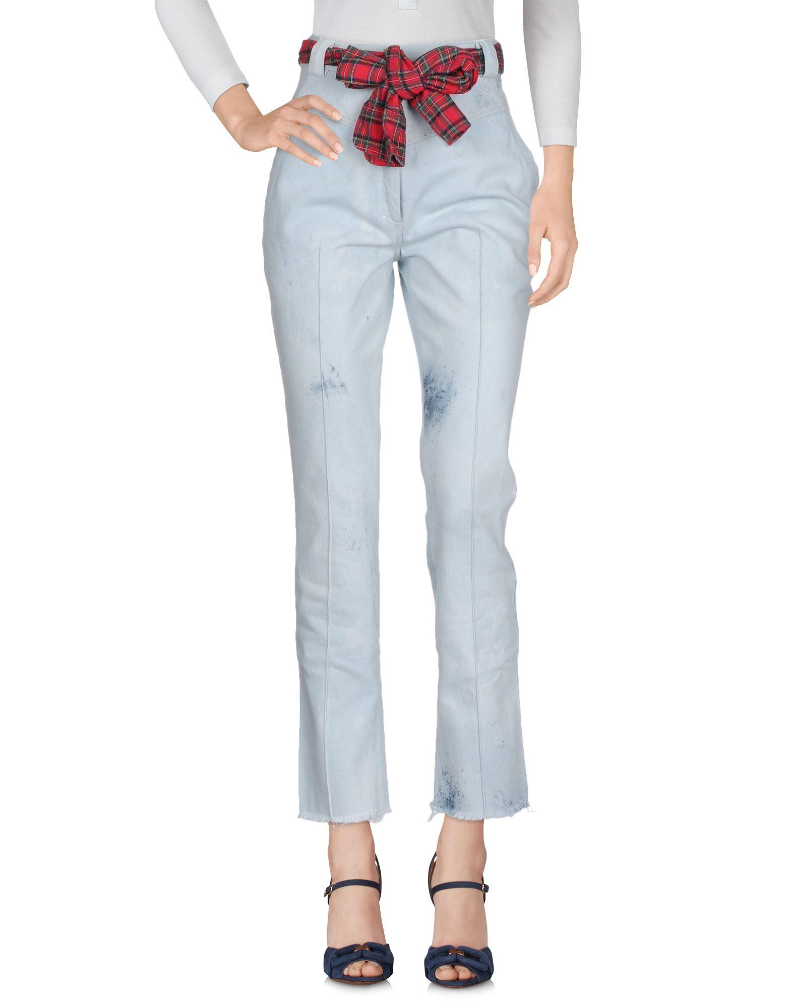 купить RONALD VAN DER KEMP Джинсовые брюки по цене 21050 рублей