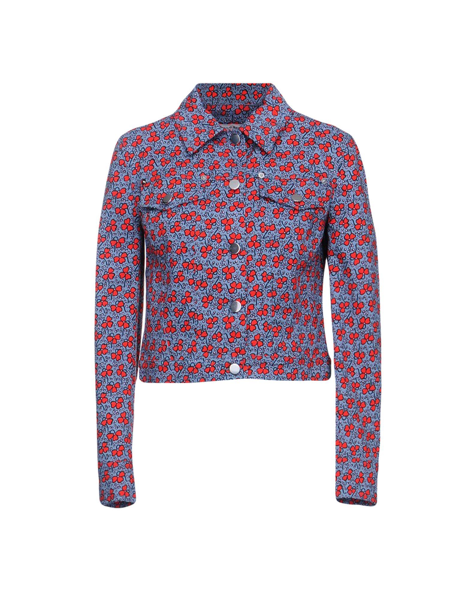 PHILOSOPHY di LORENZO SERAFINI Джинсовая верхняя одежда блуза philosophy di lorenzo serafini голубой