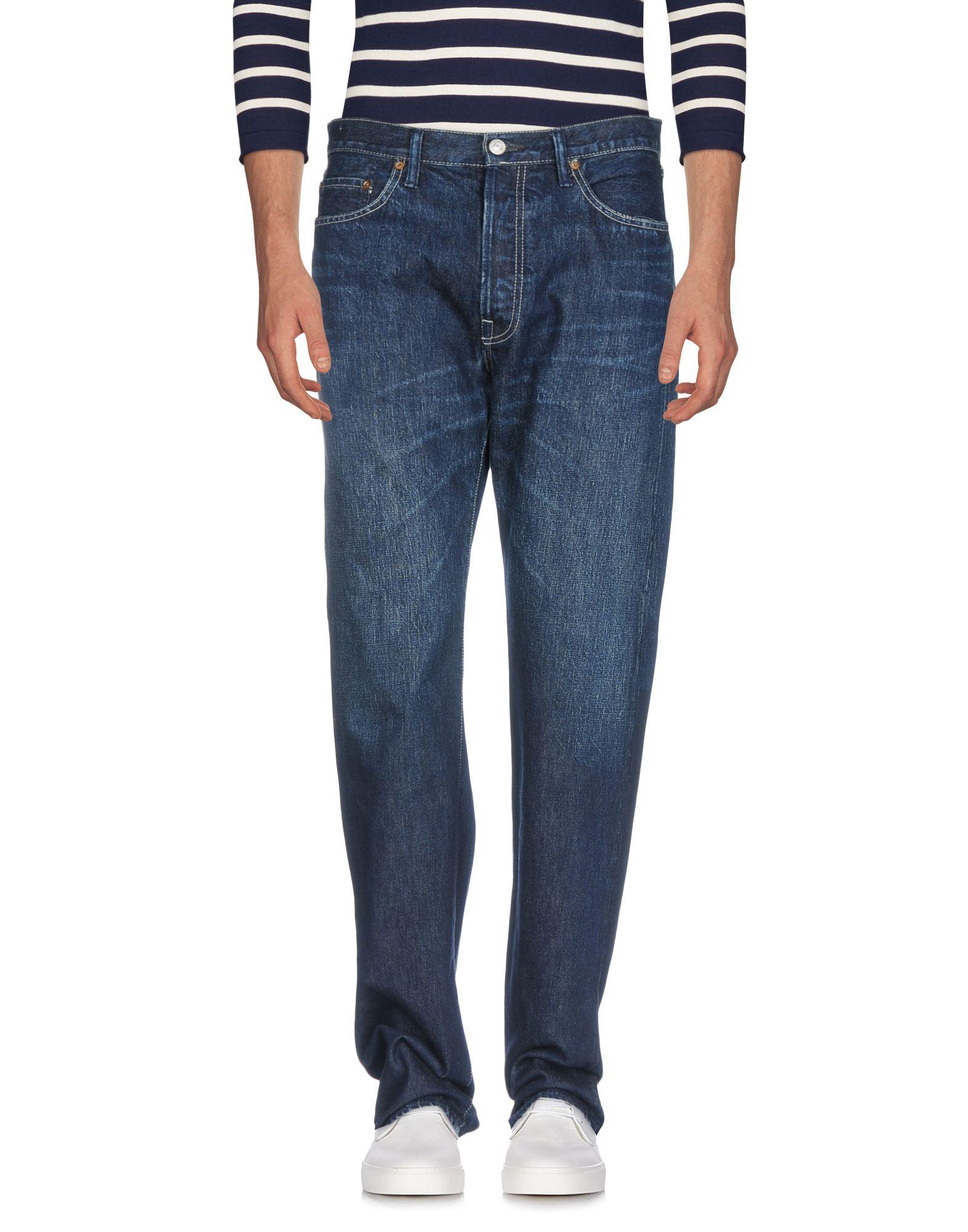 YOHJI YAMAMOTO POUR HOMME Джинсовые брюки