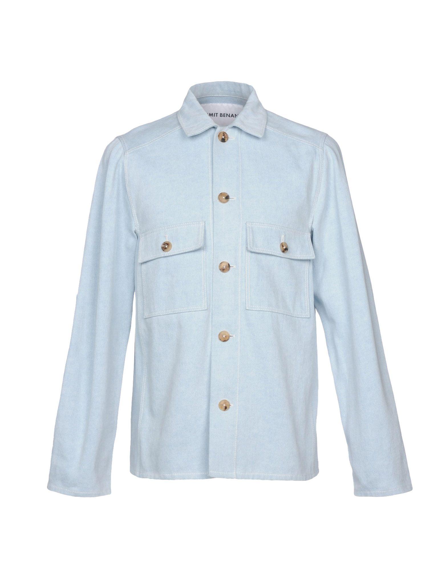 UMIT BENAN Джинсовая рубашка