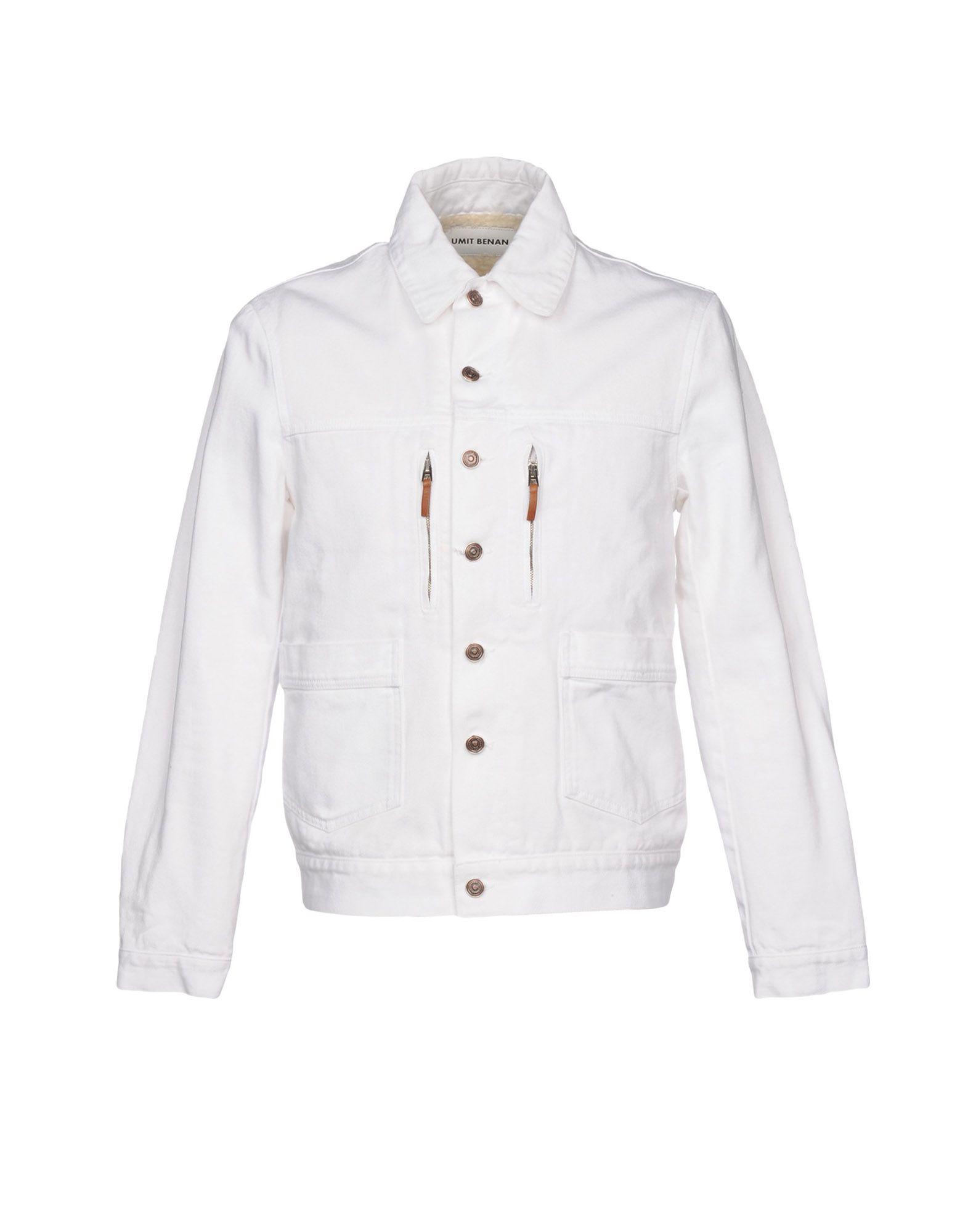 UMIT BENAN Denim Jacket in White
