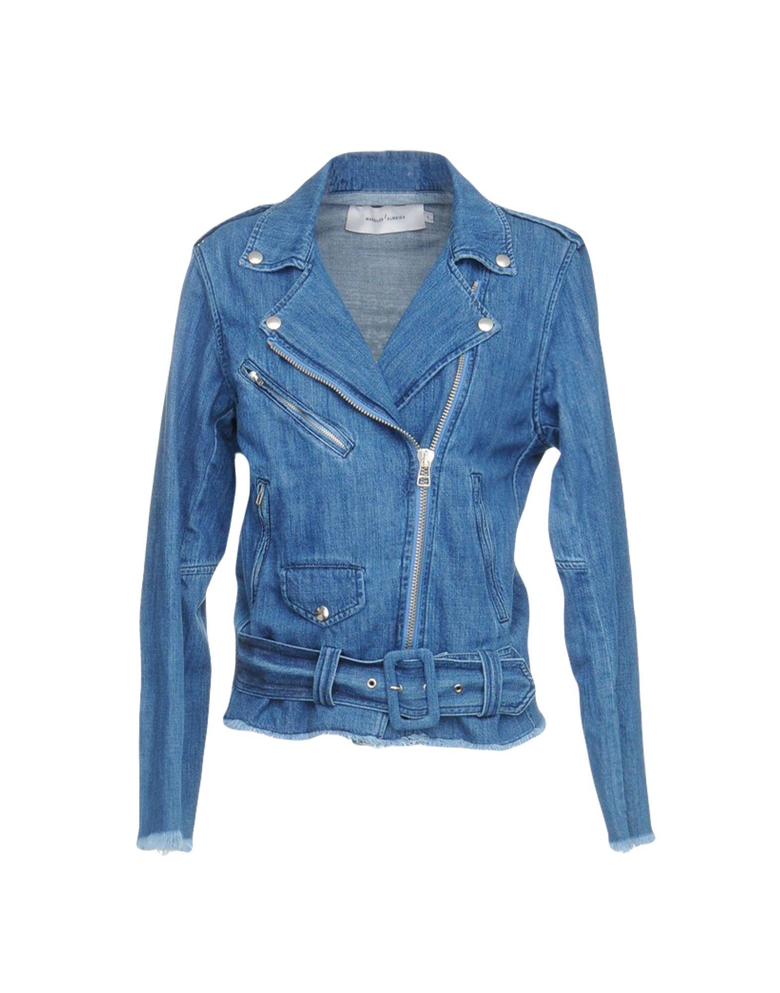 Фото - MARQUES' ALMEIDA Джинсовая верхняя одежда marques almeida джинсовая юбка