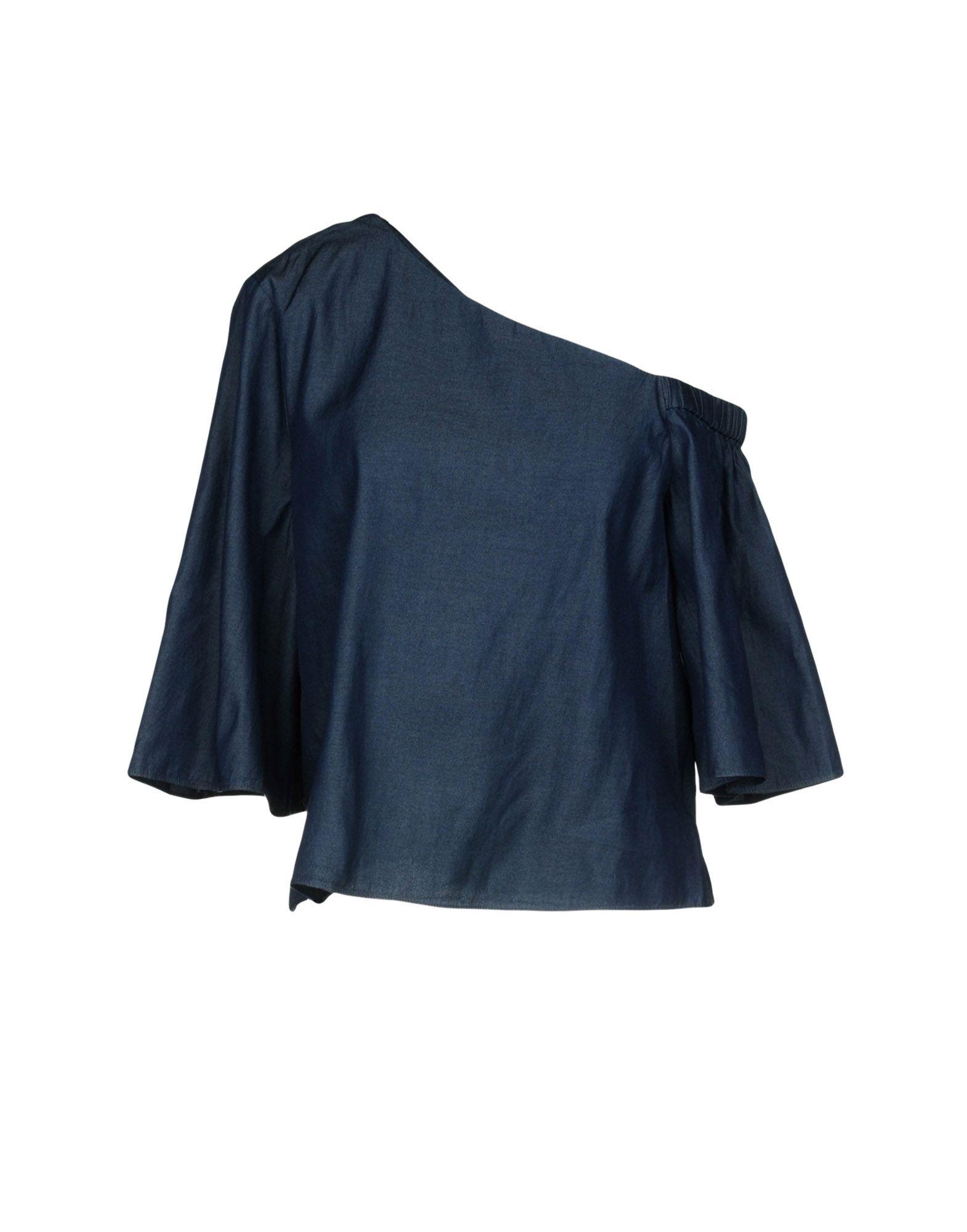 TIBI Джинсовая рубашка