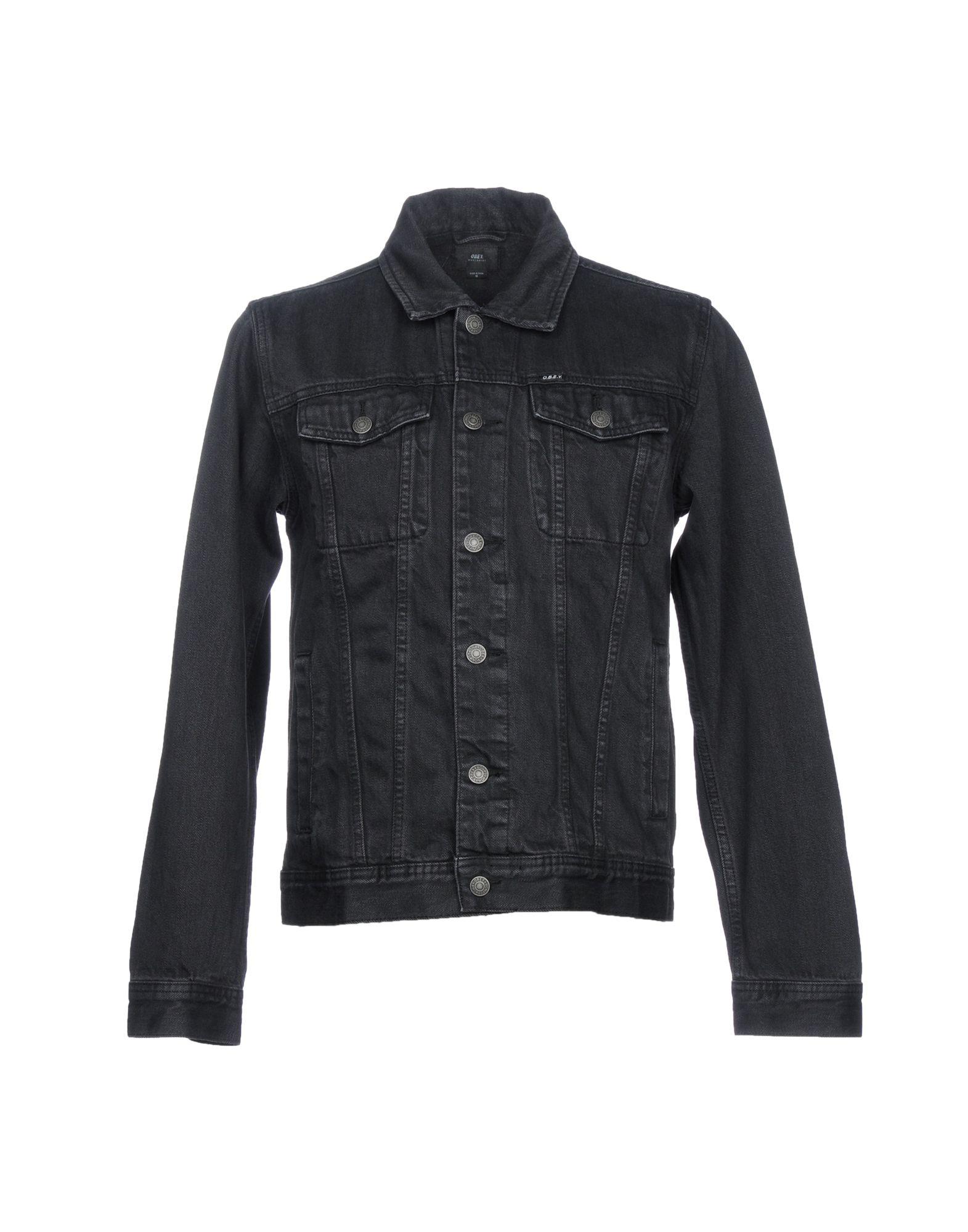 OBEY Джинсовая верхняя одежда folk джинсовая верхняя одежда