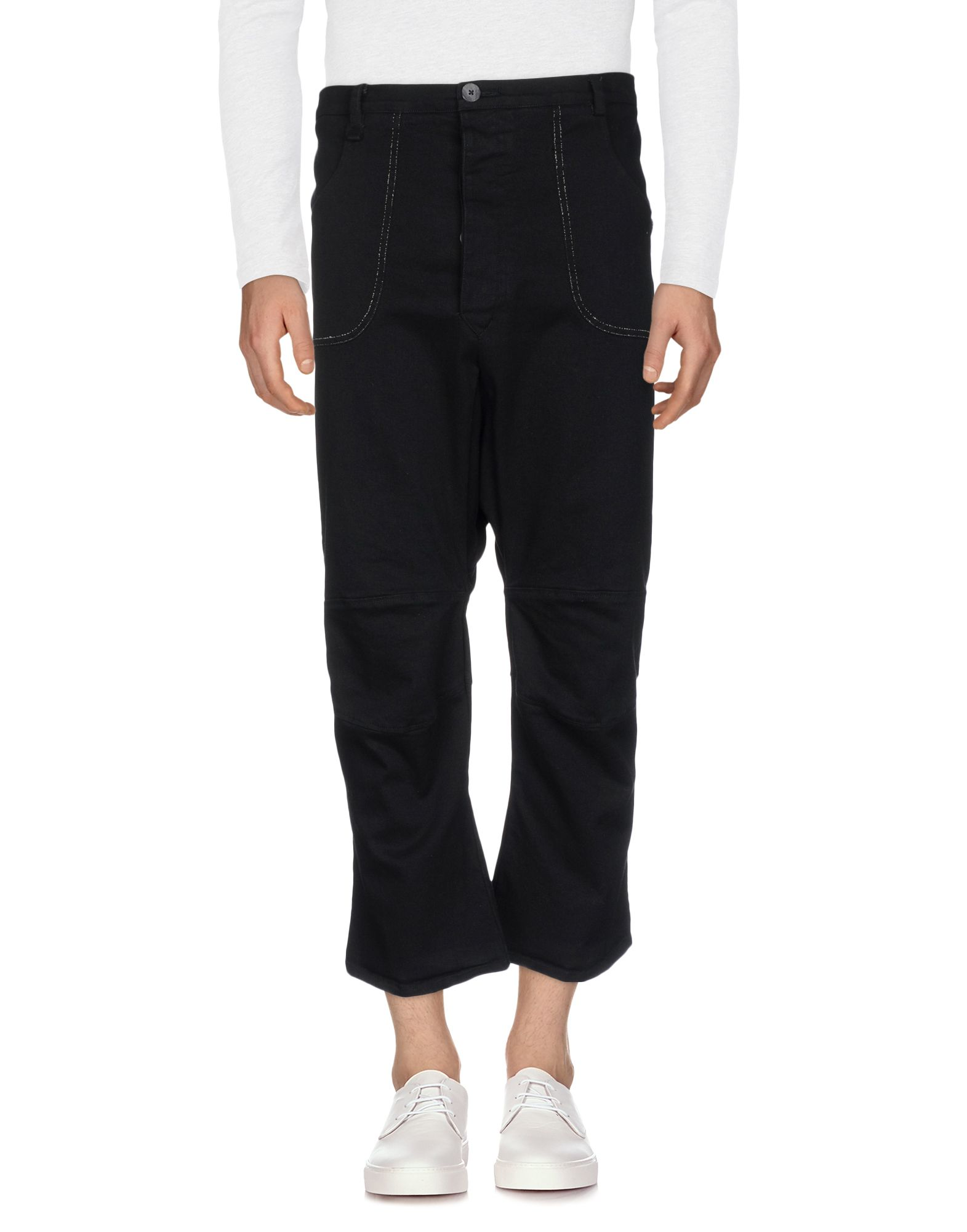 NOSTRASANTISSIMA Джинсовые брюки-капри start up джинсовые брюки капри