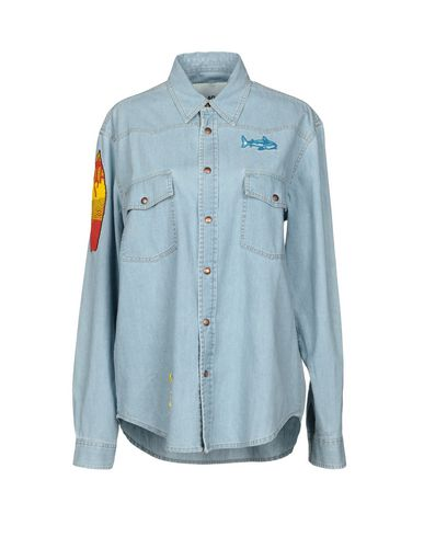 Джинсовая рубашка от AVA ADORE