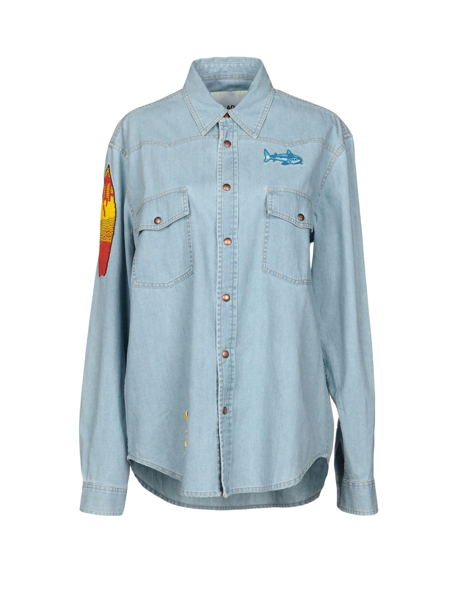 AVA ADORE Джинсовая рубашка серьги adore 90658