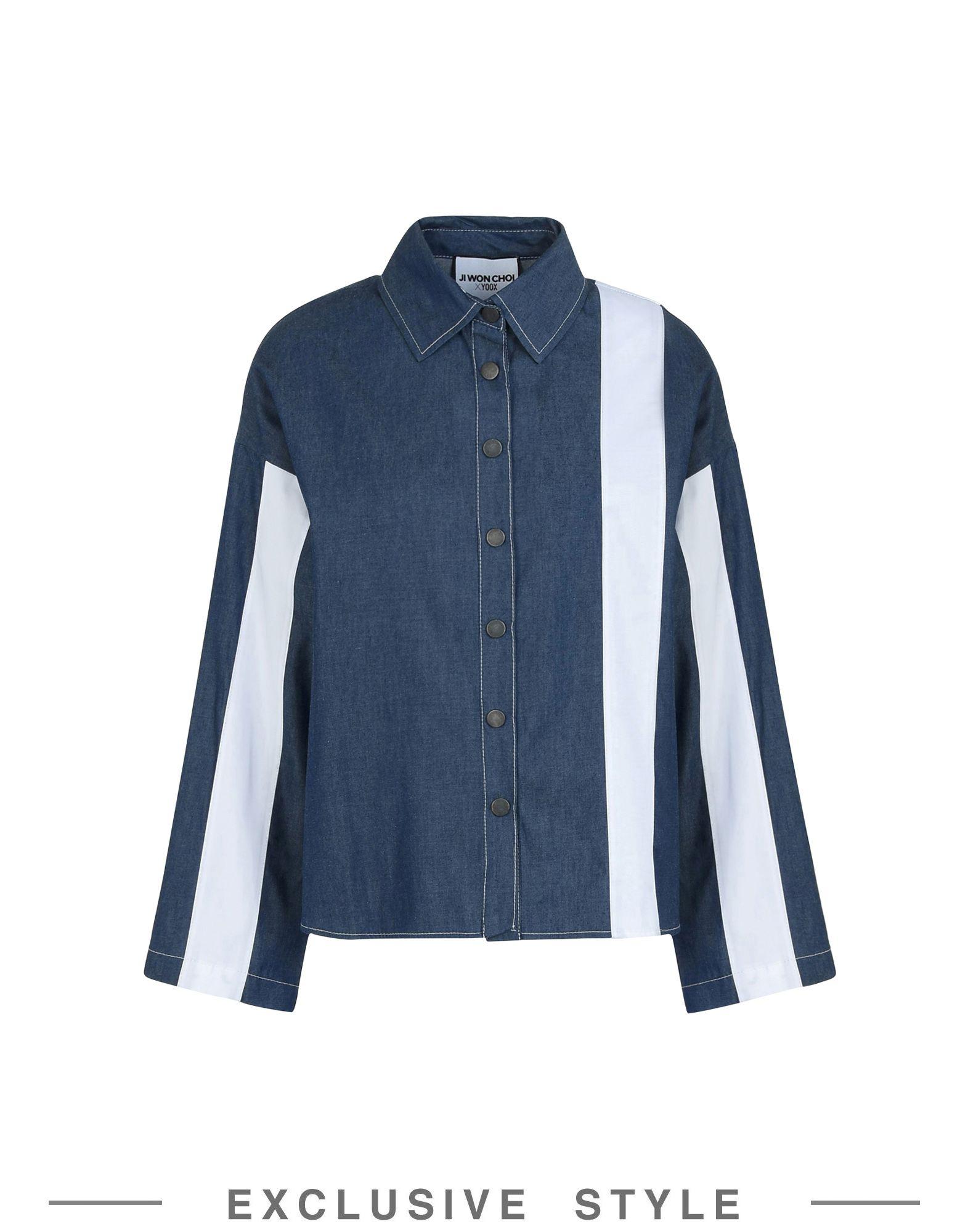 JI WON CHOI x YOOX Джинсовая рубашка