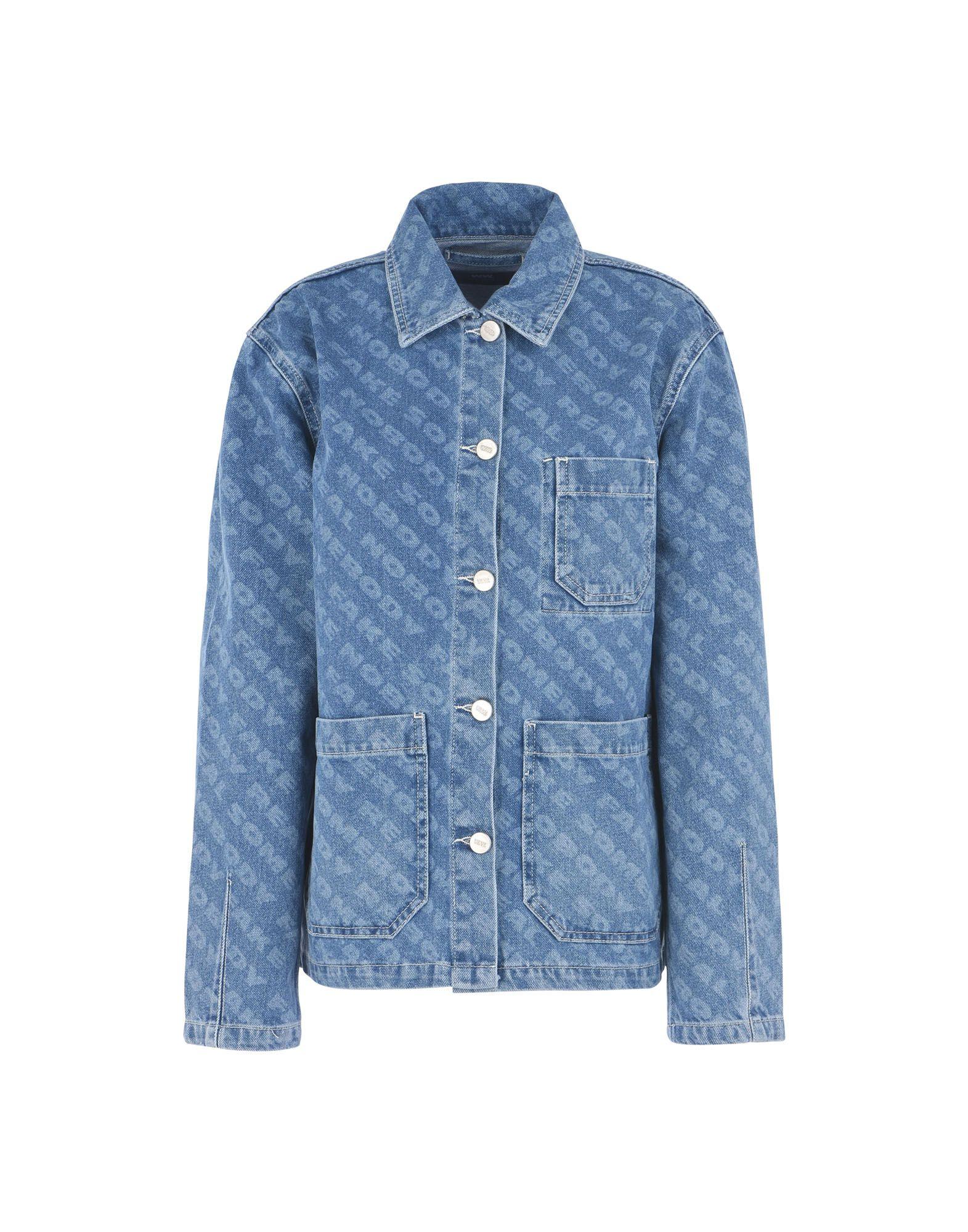 WOOD WOOD Джинсовая верхняя одежда topshop unique джинсовая верхняя одежда