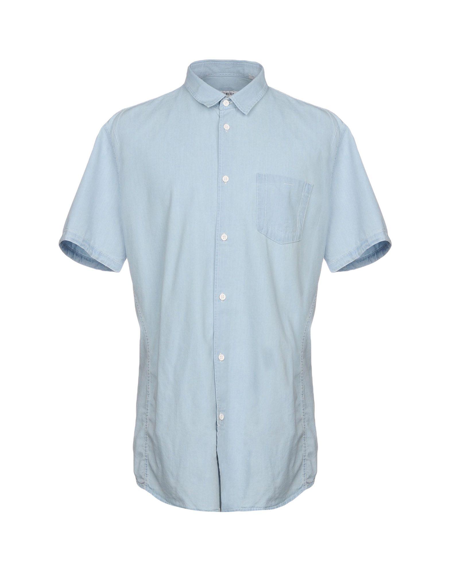 BIKKEMBERGS Джинсовая рубашка life sux джинсовая рубашка