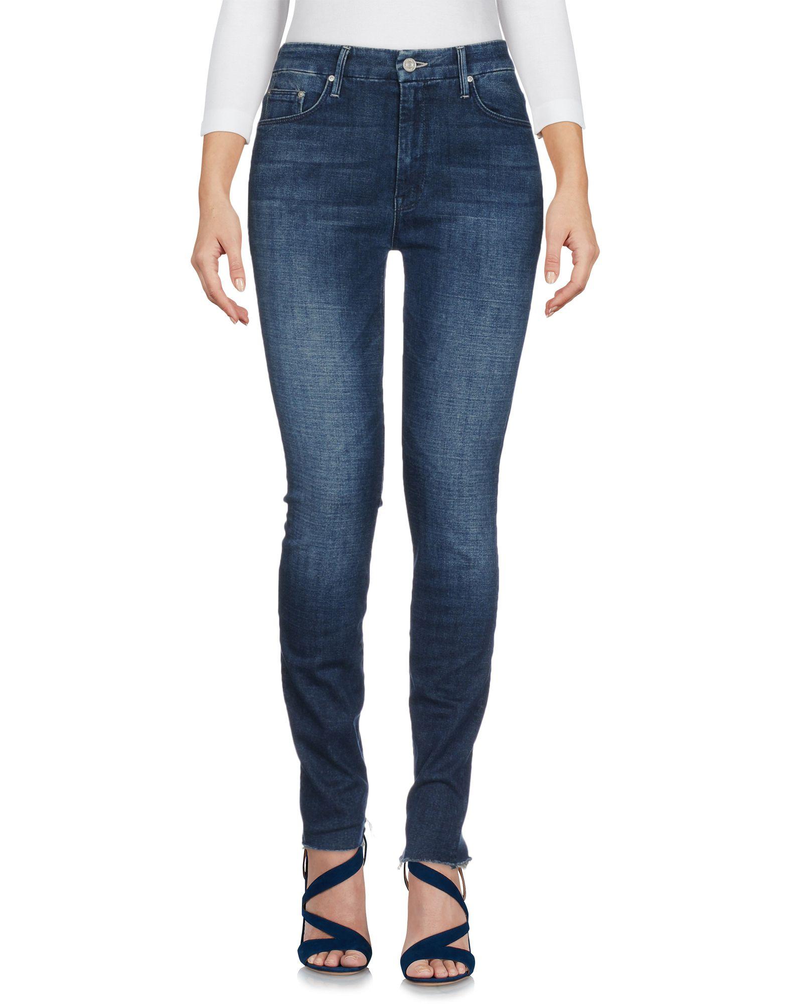 MOTHER Джинсовые брюки embroidered high waisted mini skirt