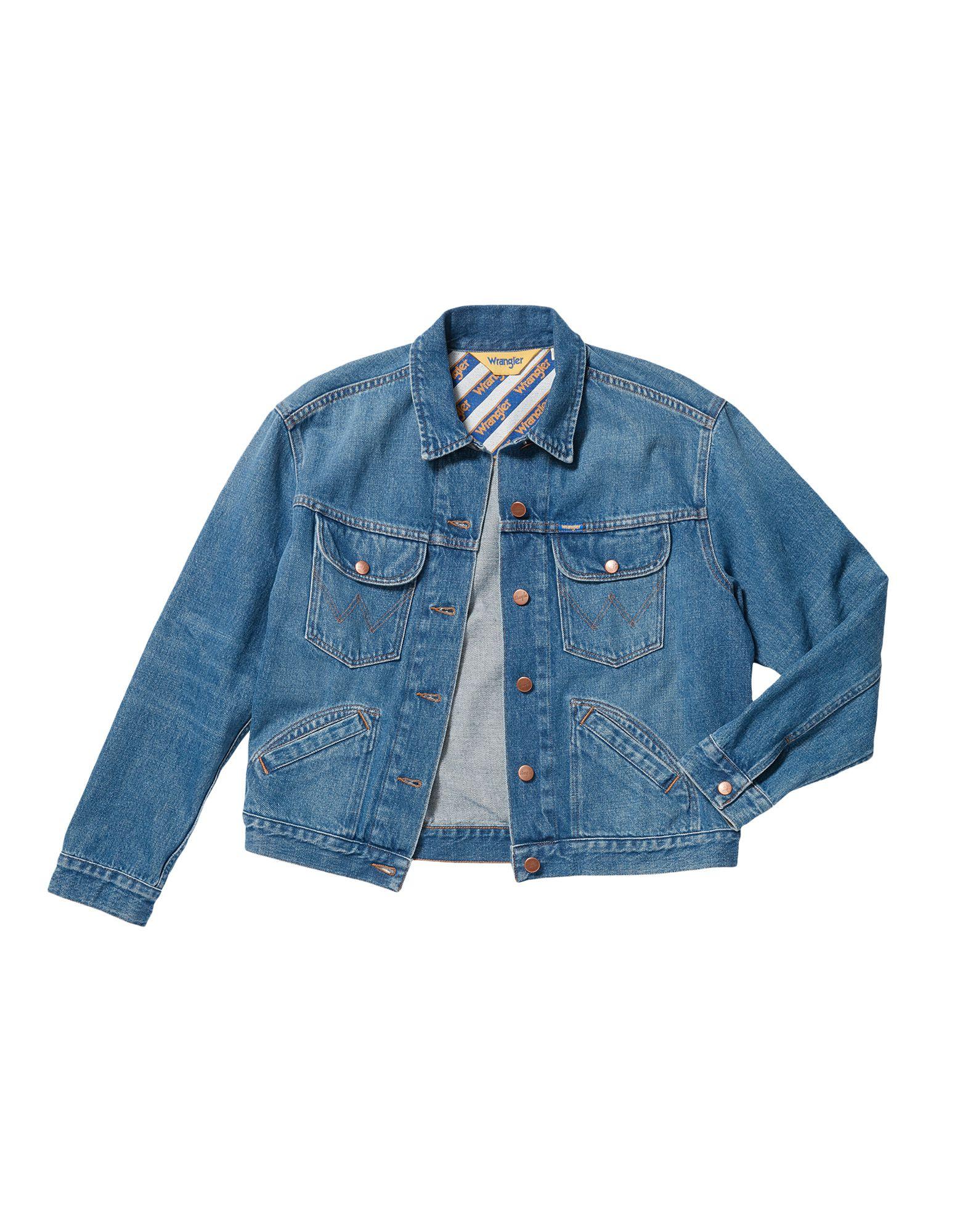 WRANGLER Джинсовая верхняя одежда folk джинсовая верхняя одежда