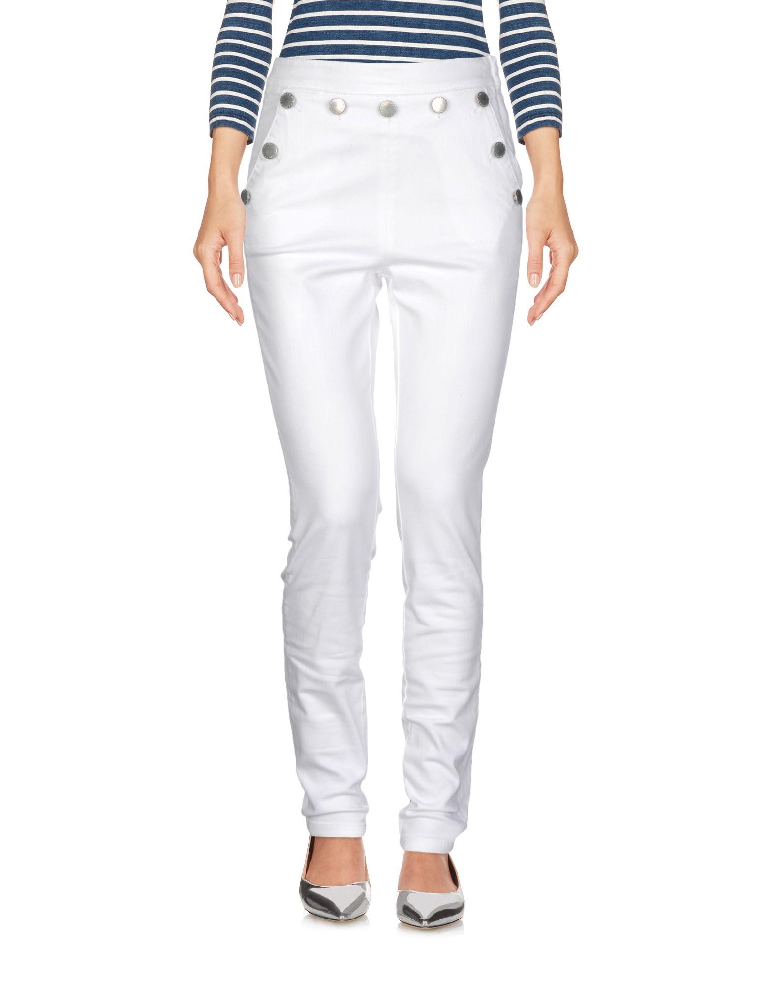 MAJE Джинсовые брюки moos джинсовые брюки