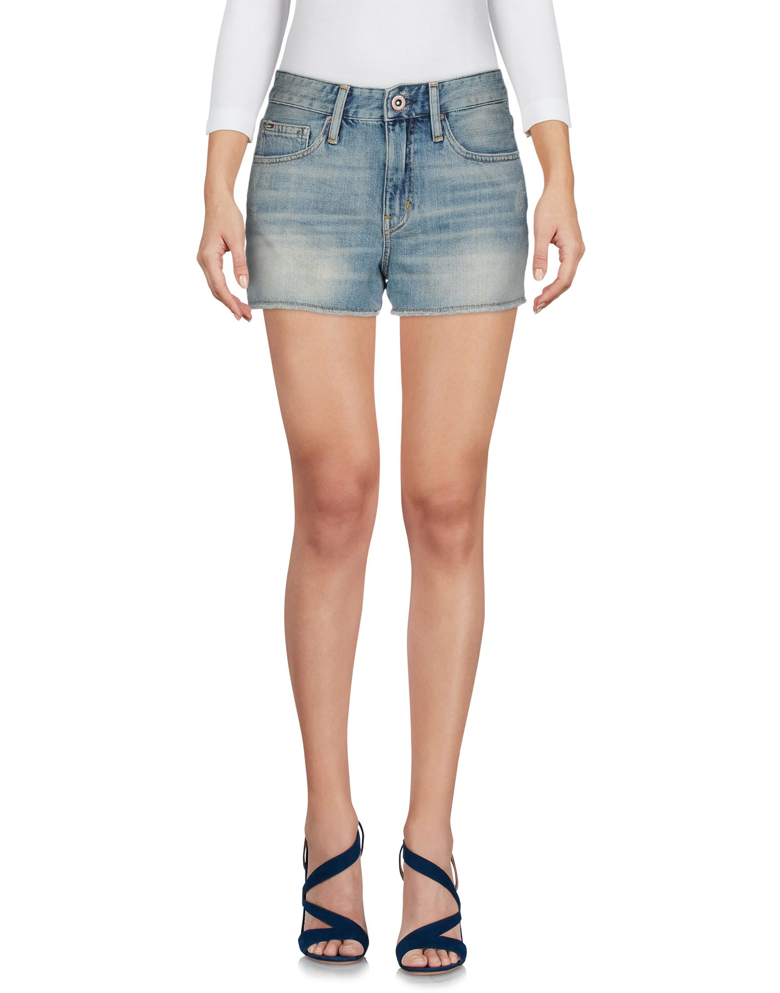 TOMMY JEANS Джинсовые шорты шорты джинсовые tommy jeans tommy jeans to052emaihs7