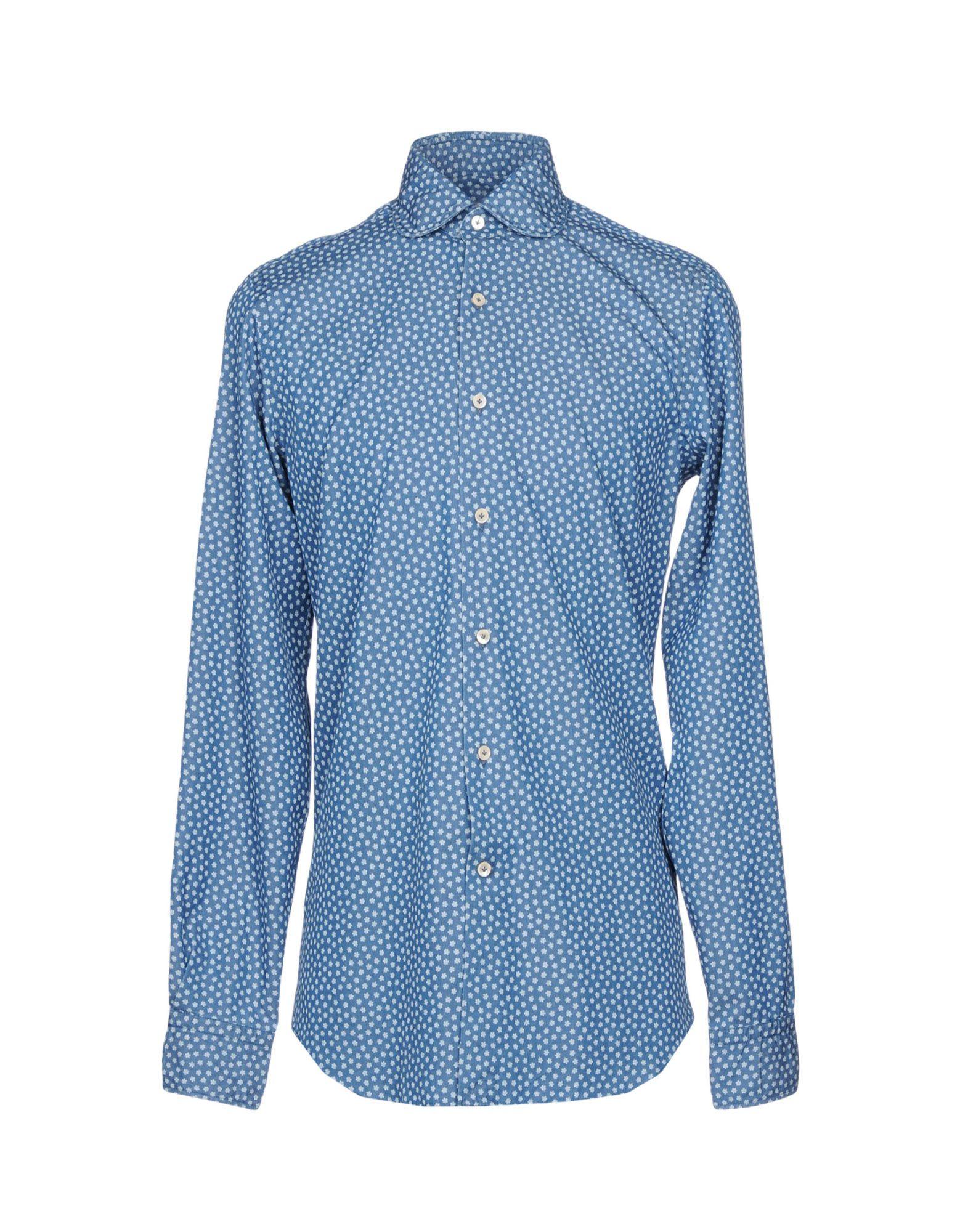 ALESSANDRO GHERARDI Джинсовая рубашка alessandro 05 470