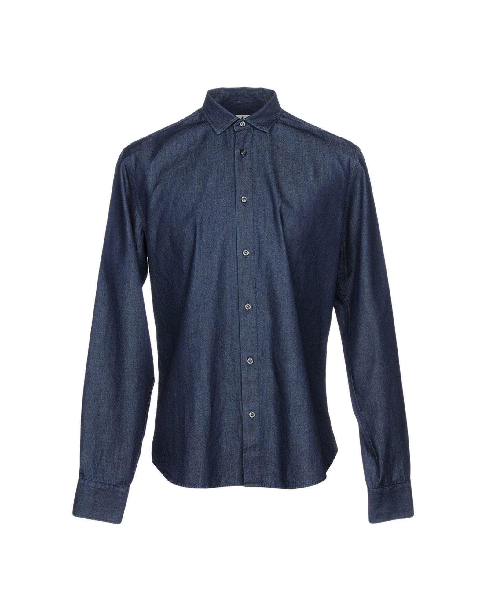 MACCHIA J Джинсовая рубашка 1piece 3m vhb 5952 heavy duty double sided adhesive acrylic foam tape black 150mmx100mmx1 1mm