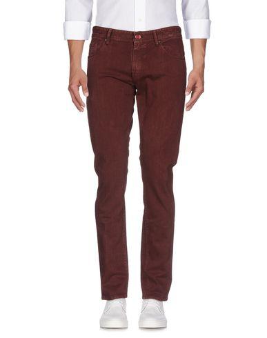 Фото - Джинсовые брюки от PT05 цвет баклажанный