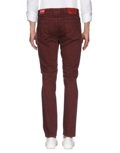 Фото 2 - Джинсовые брюки от PT05 цвет баклажанный
