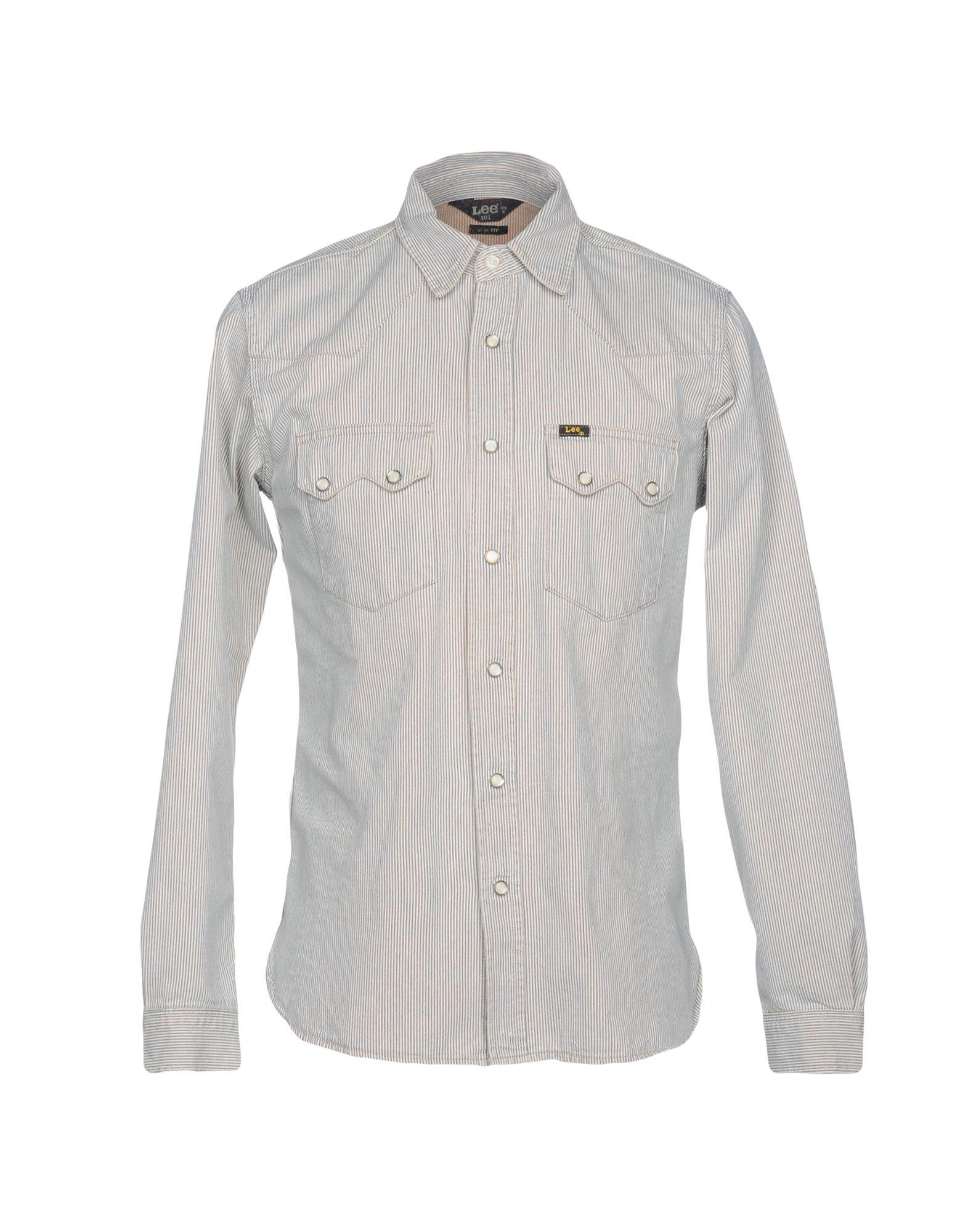 LEE 101 Джинсовая рубашка куртка джинсовая lee lee le807emaksy8